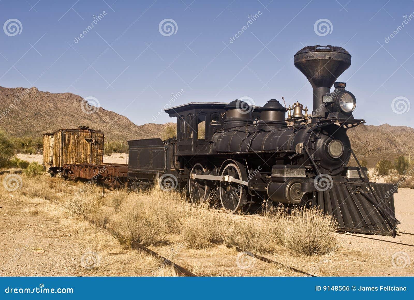 Trem ocidental velho