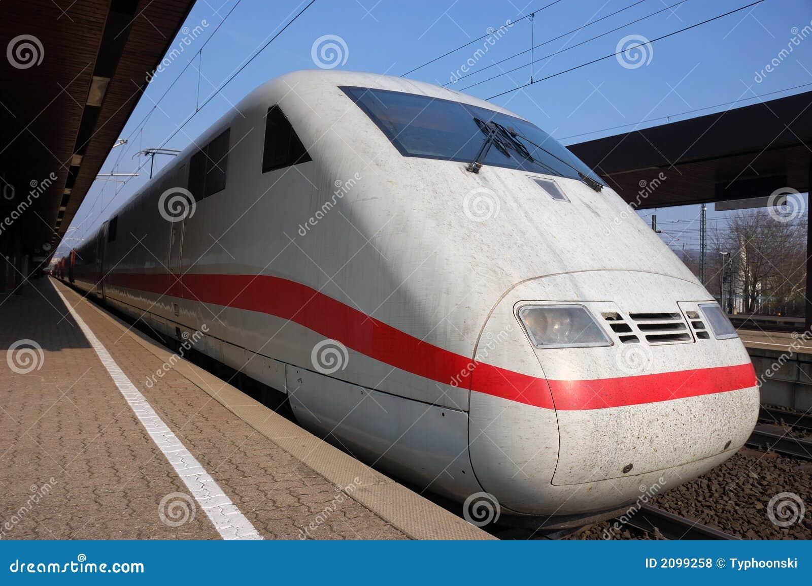 Trem rápido alemão
