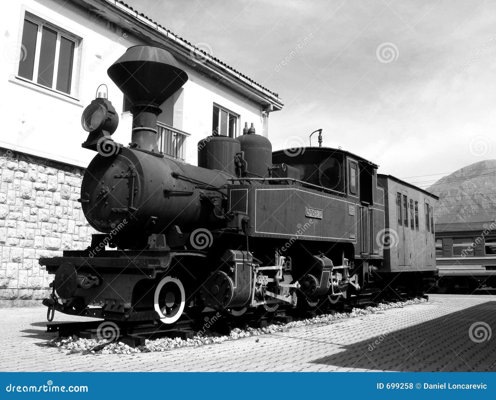 Trem velho do BW