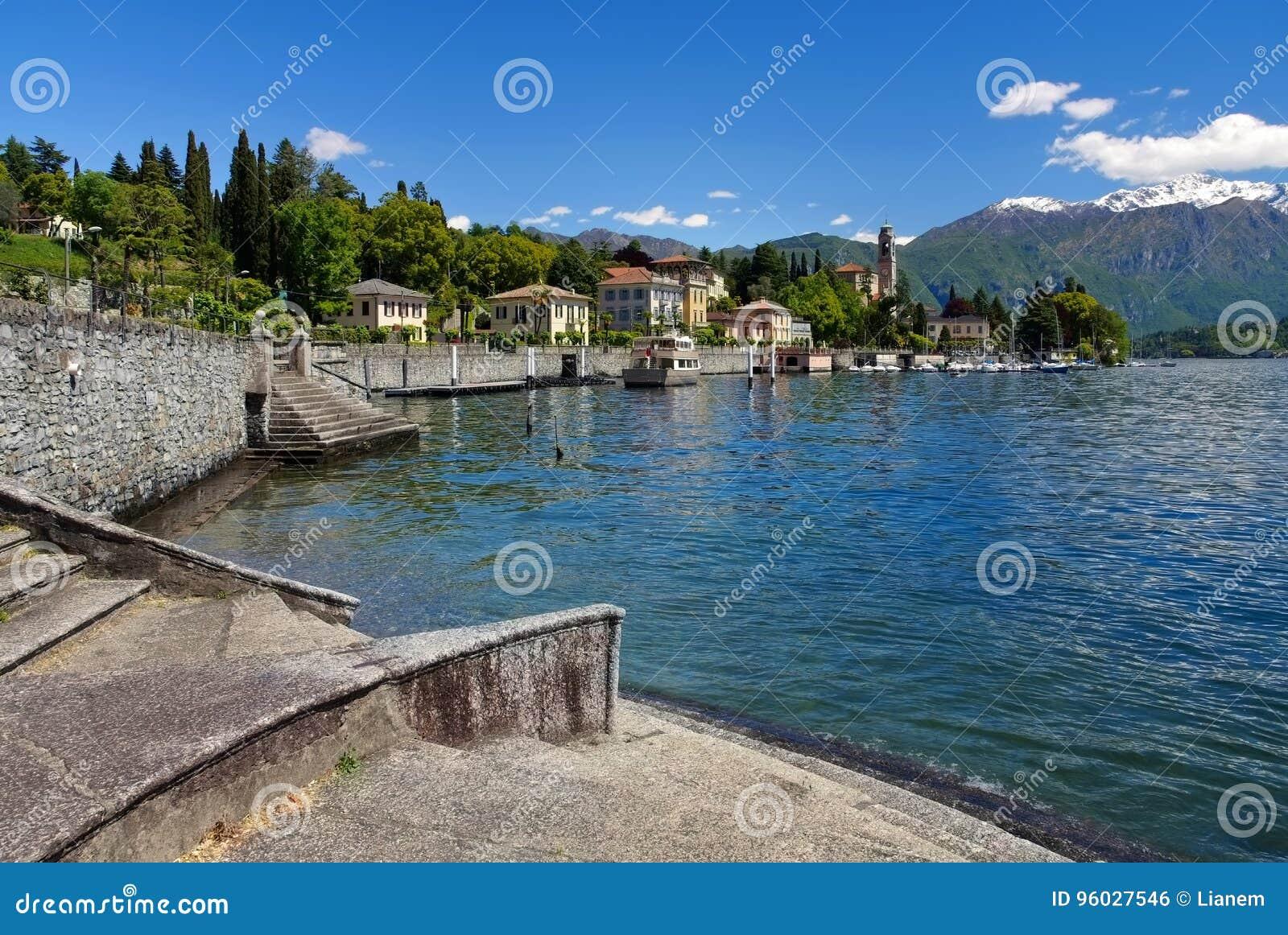 Tremezzo, Jeziorny Como w Włochy