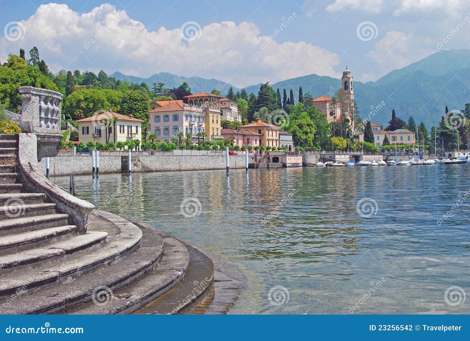Tremezzo, Meer Como, Bezoeker ziet, Italië
