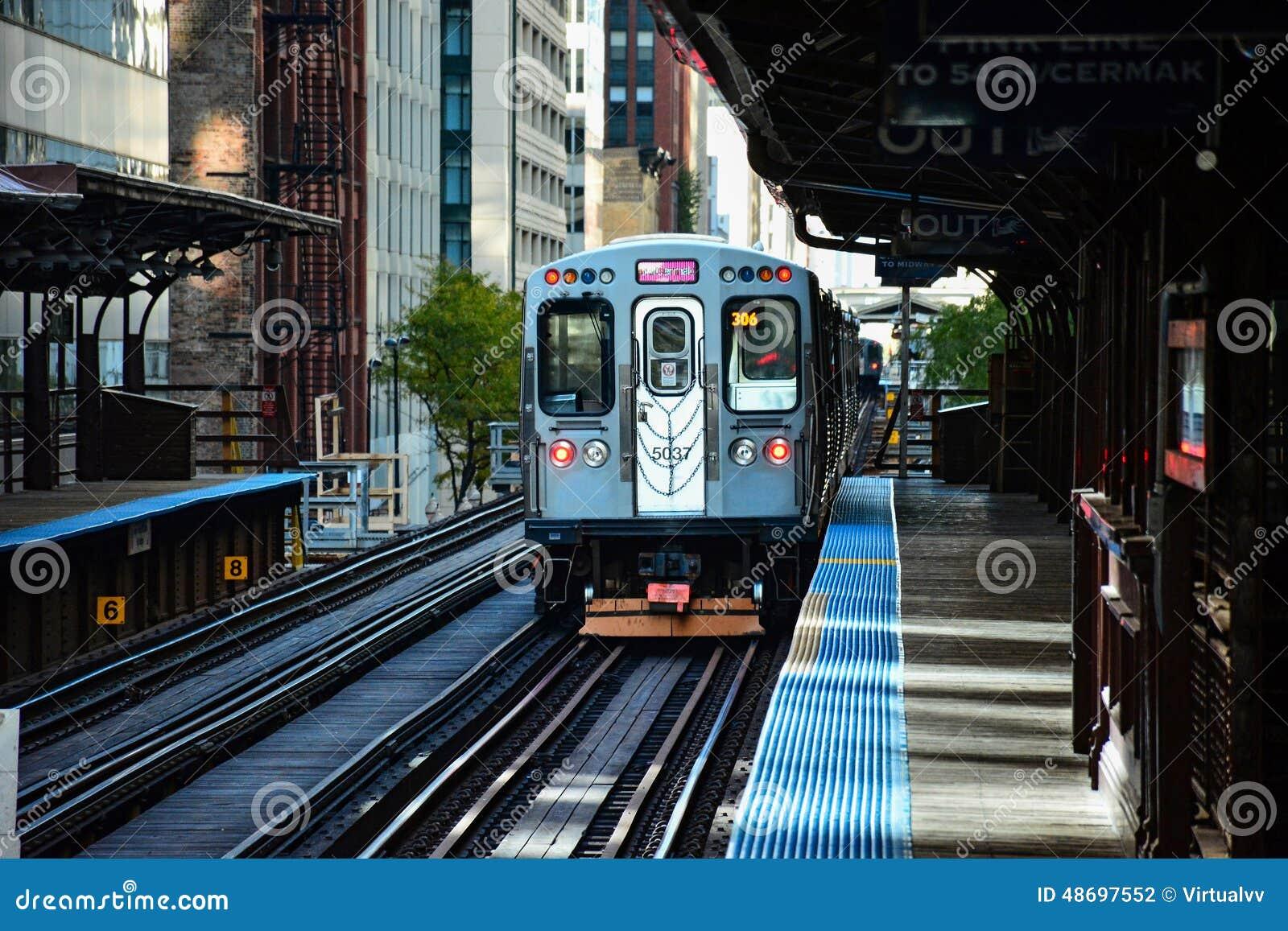 Tren de Chicago CTA