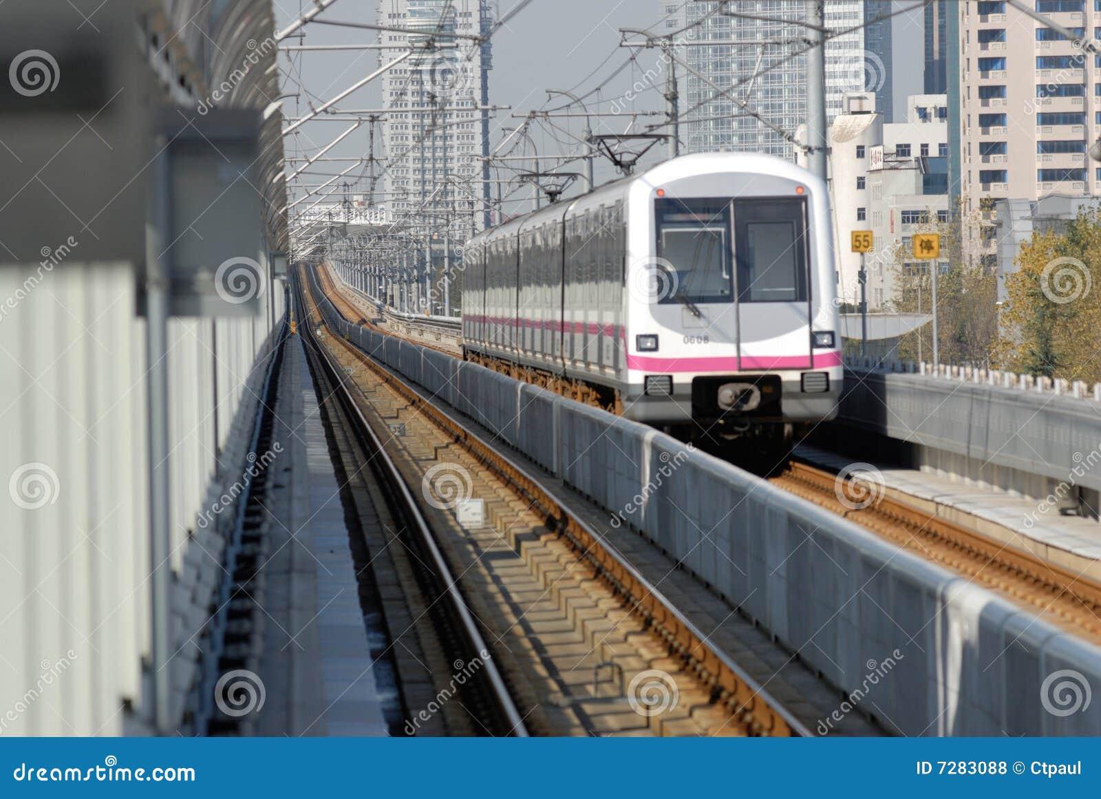Tren de la ciudad de Shangai
