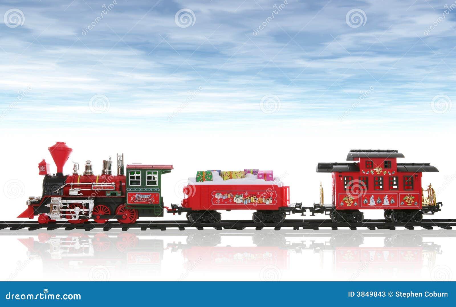 tren de la navidad imagen de archivo imagen de regalo toy train clipart christmas toy train clipart