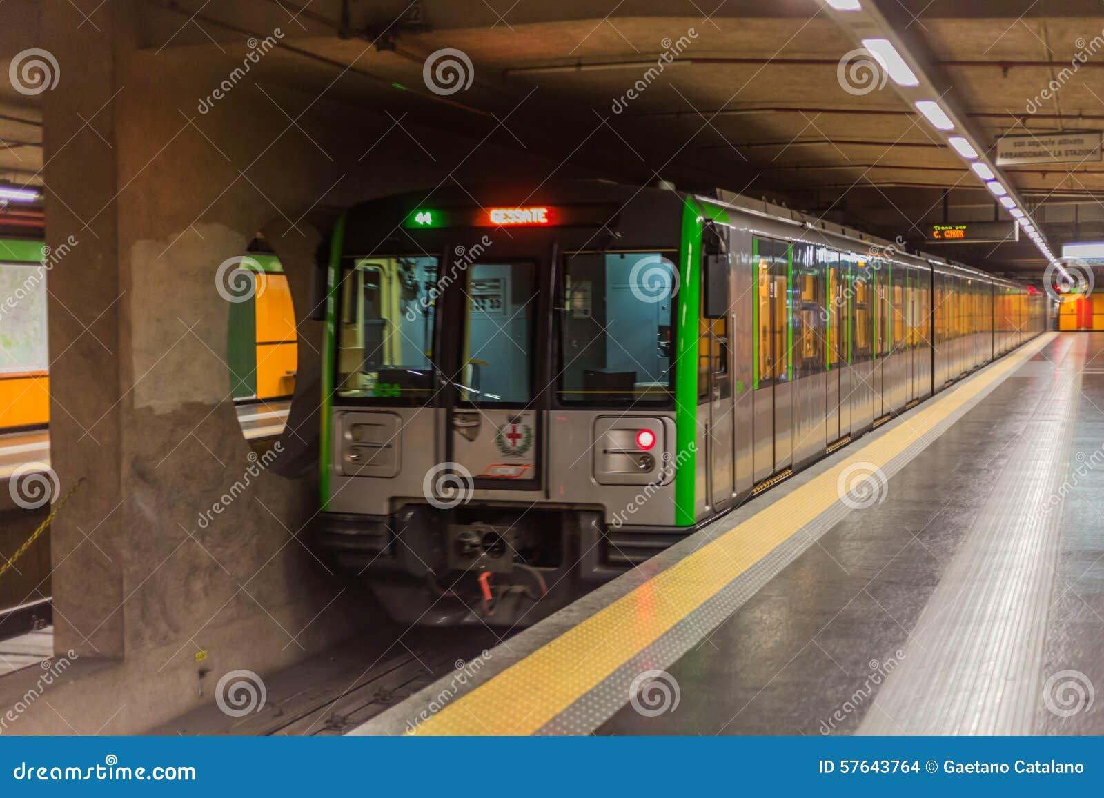 Tren en Milano