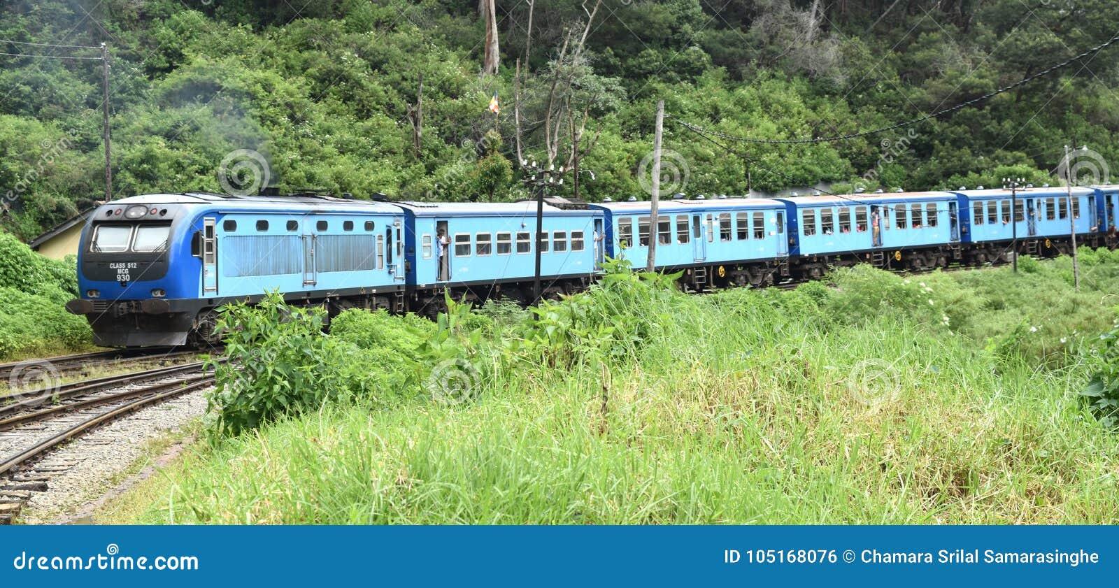 Tren a kandy de Colombo