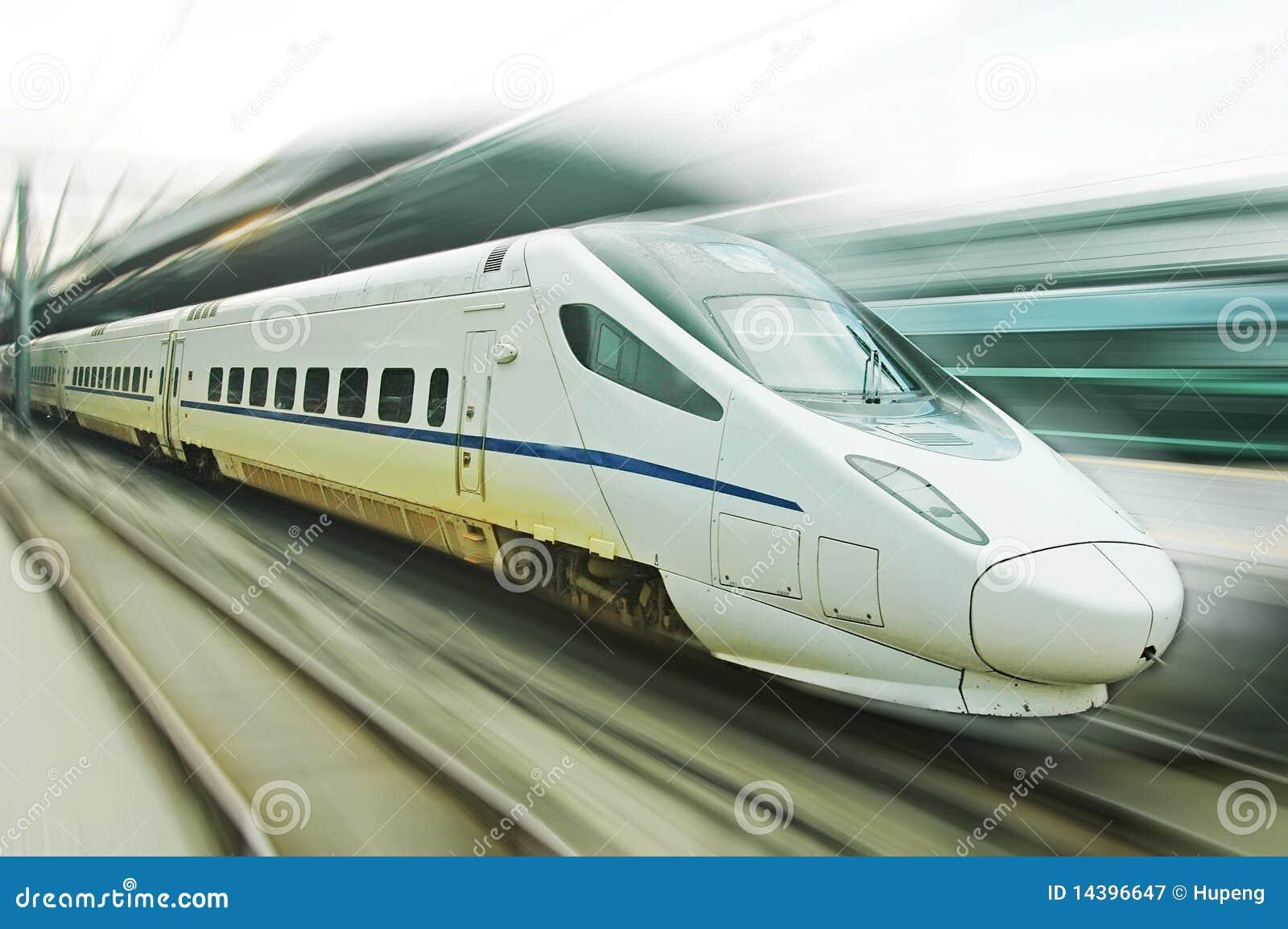 Tren rápido chino