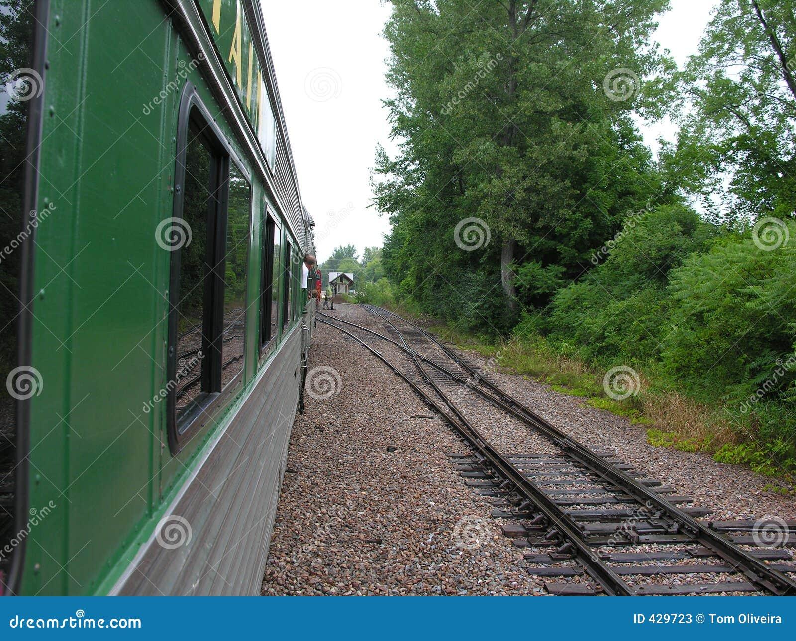 Tren y pistas