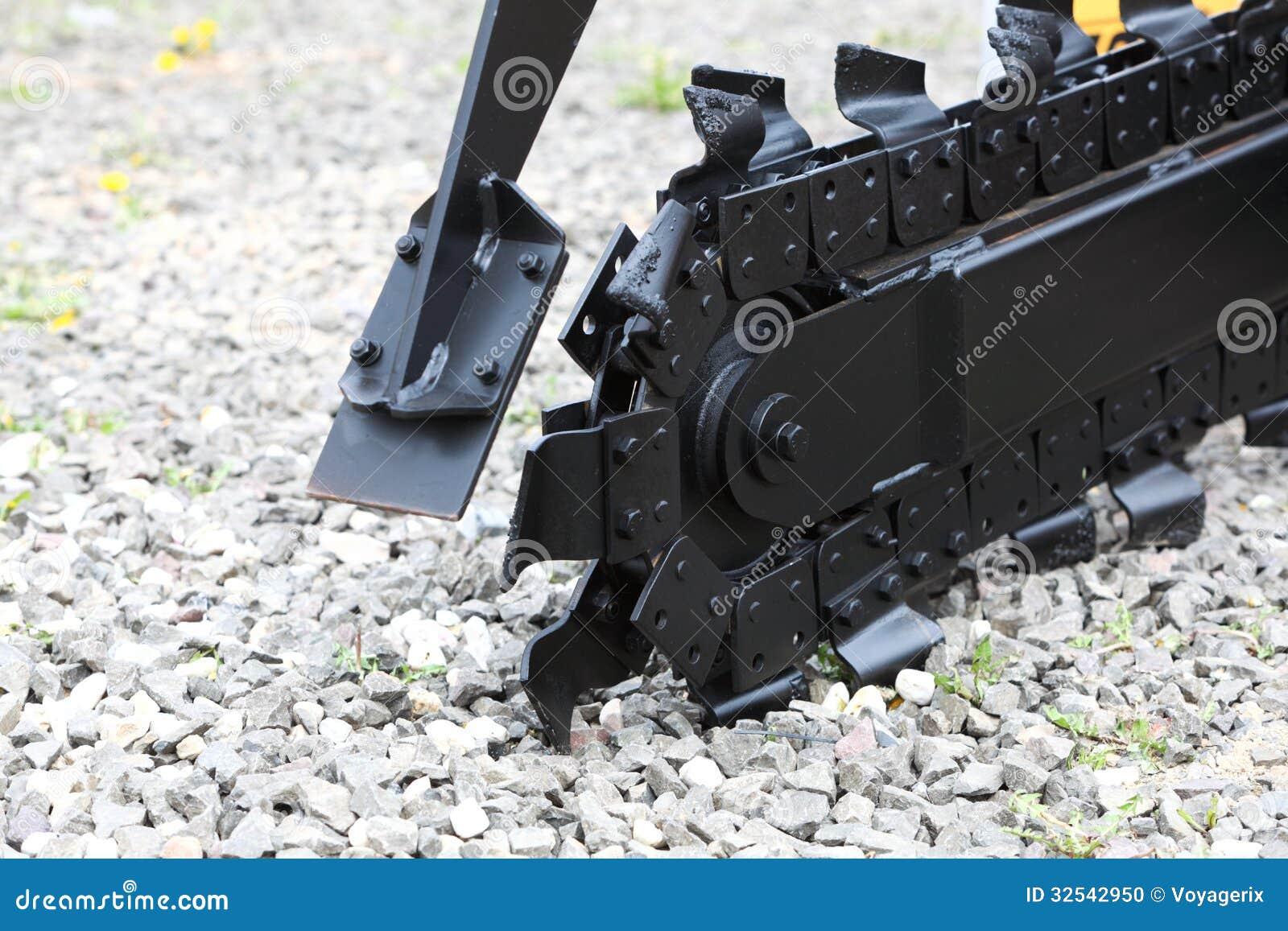 trench digger machine