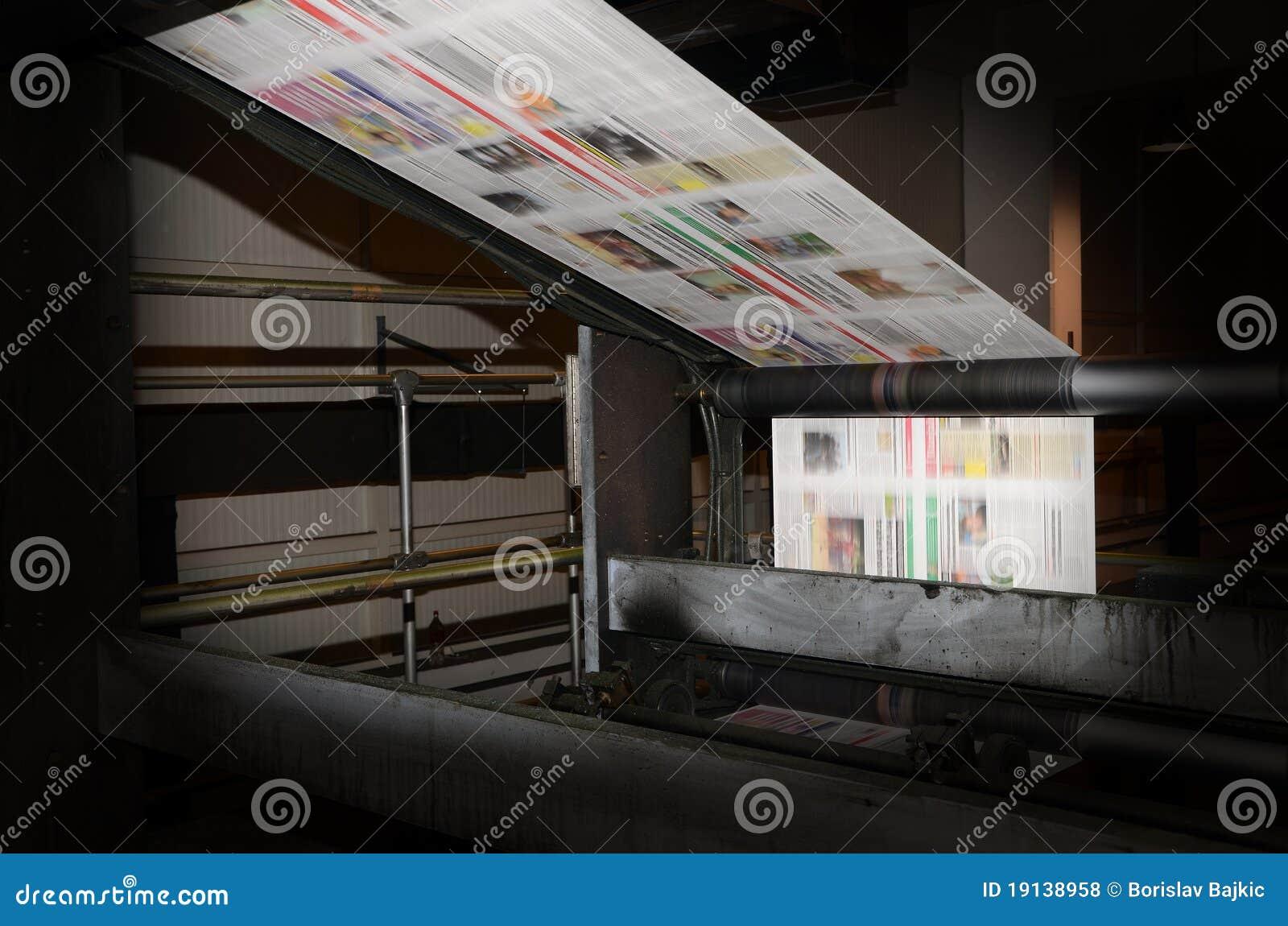 Trend för förskjuten printing