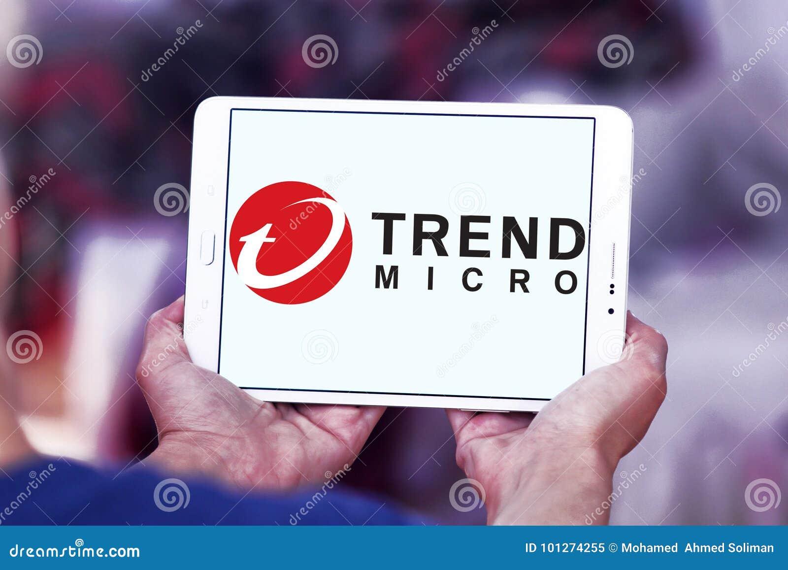 Trend Micro company logo editorial image  Image of avast
