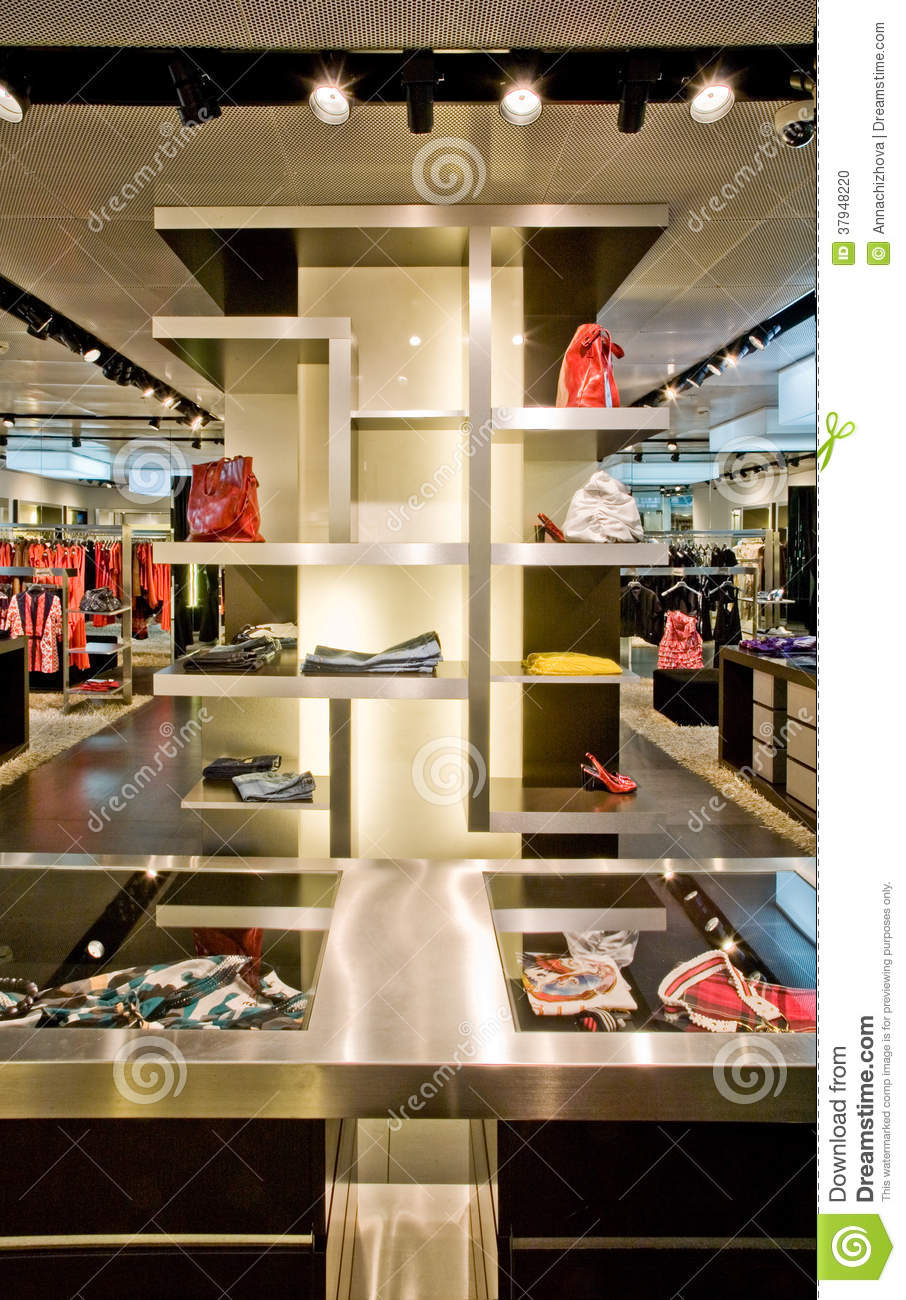 Trendy boutique stock photo image 37948220 - Nice interior pic ...