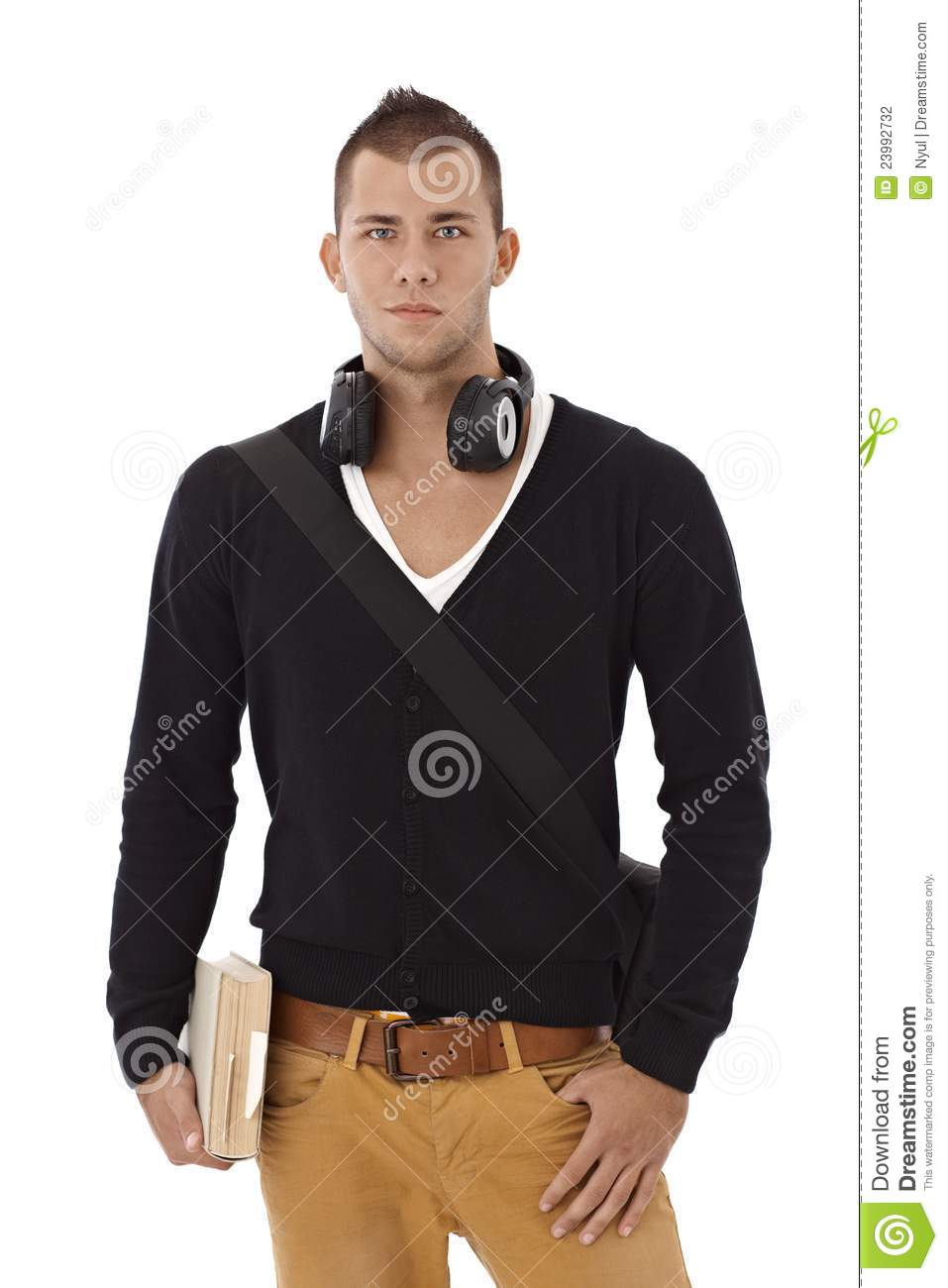Fashionable University Male Student