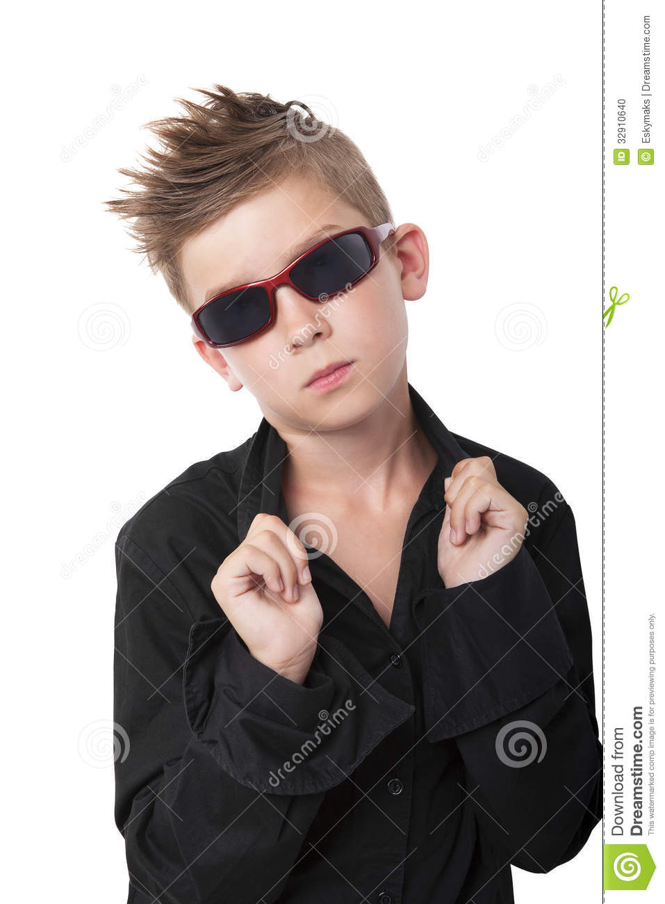 Trendy cool boy stock photo image 32910640 - Cool boys photo ...