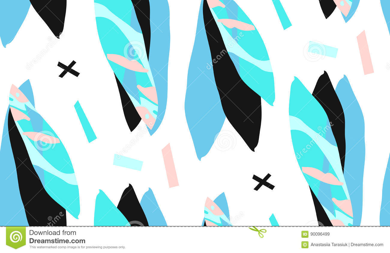 trendy creative collage with different textures and shapes modern rh dreamstime com free vector textures wood free vector texture pack