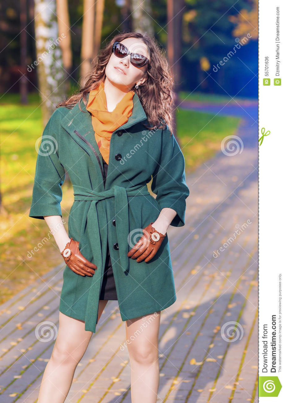 Trendy and Fashionable Caucasian Brunette Female Model with Sung