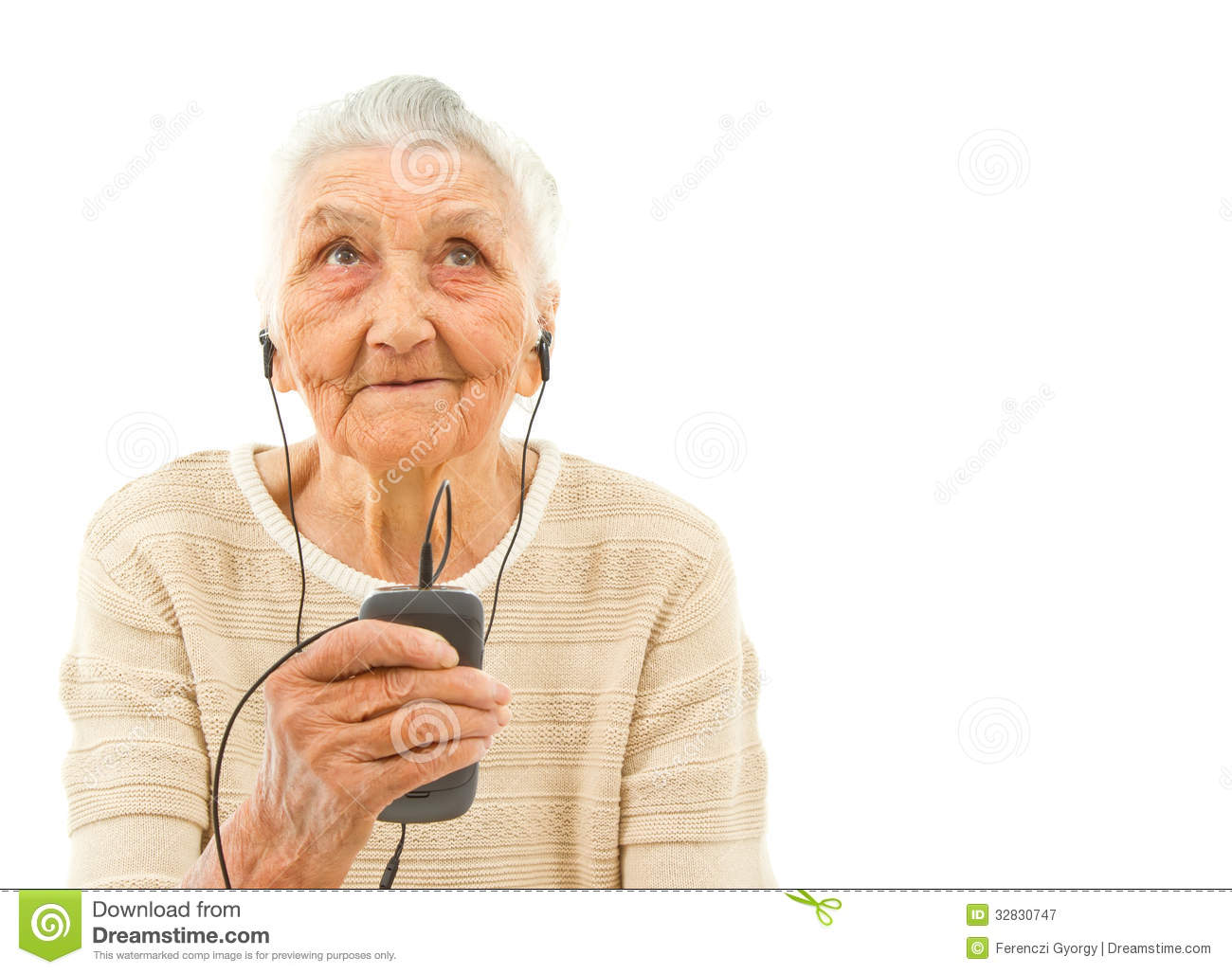 Trendy Grandma Royalty Free Stock Photography - Image: 32830747