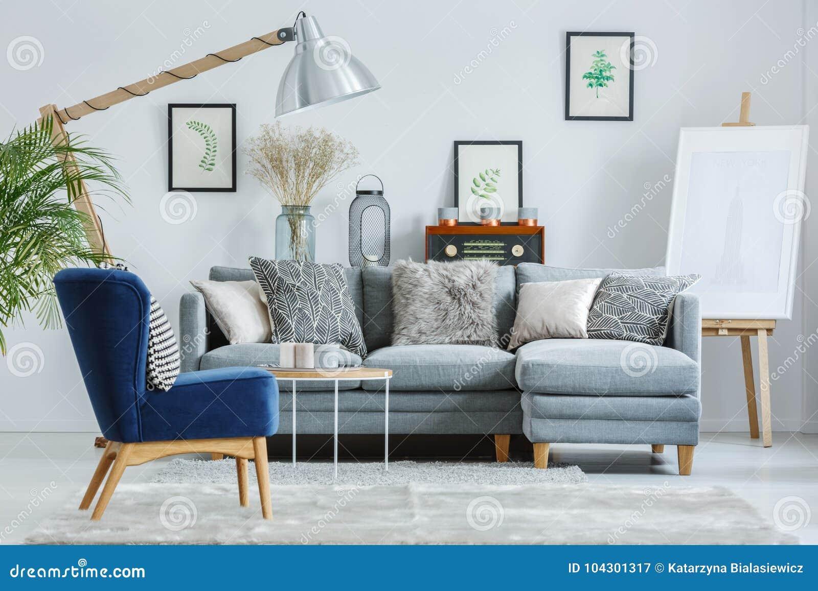 Strange Trendy Interior Design With Sofa Stock Image Image Of Short Links Chair Design For Home Short Linksinfo
