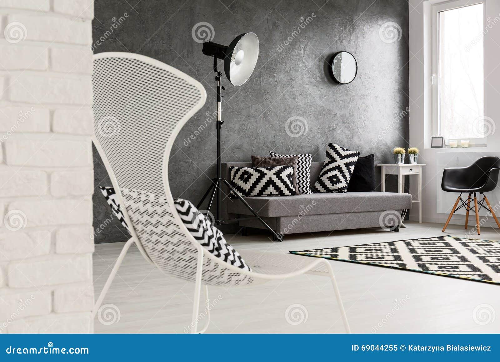 Brick Lamp Living Room