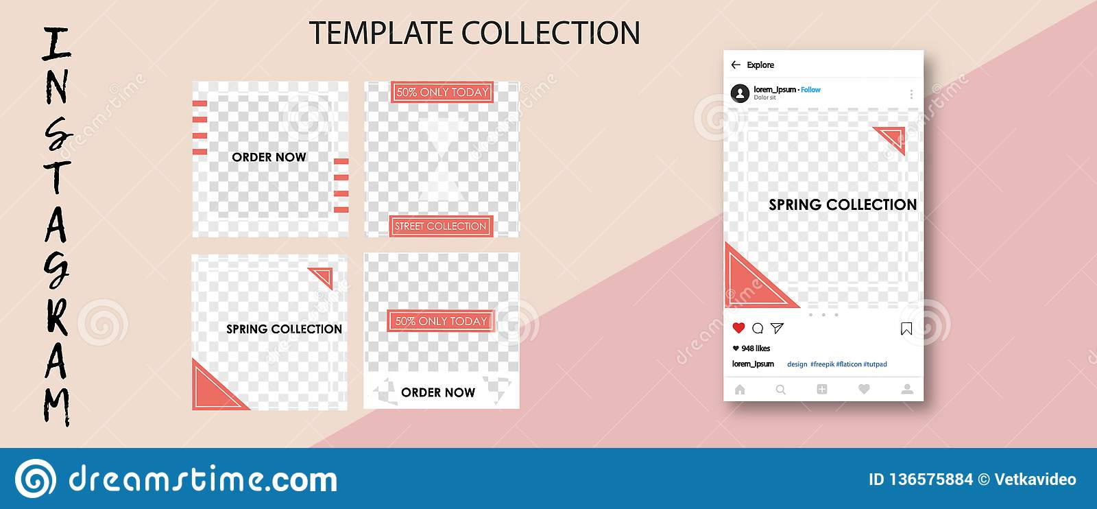 Trendy Social Network Templates Social Media Banners For