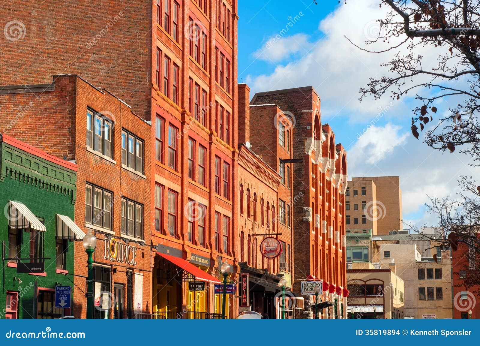 Trendy Syracuse Street Editorial Stock Image Image 35819894