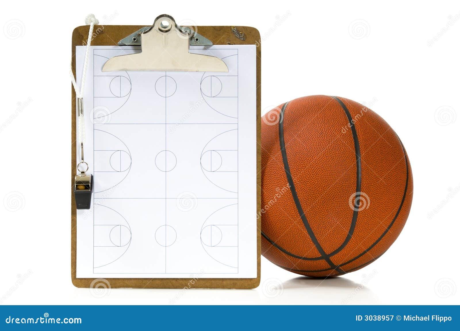 Trener koszykówki, s