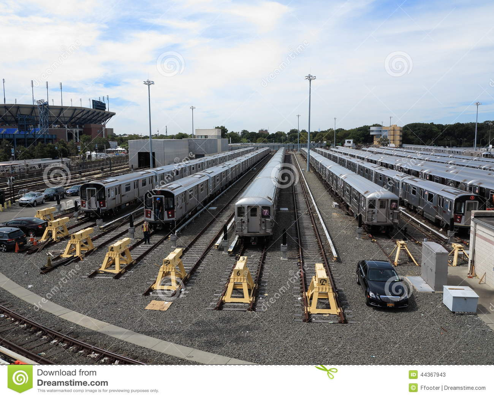 Treni del metropolitana di new york