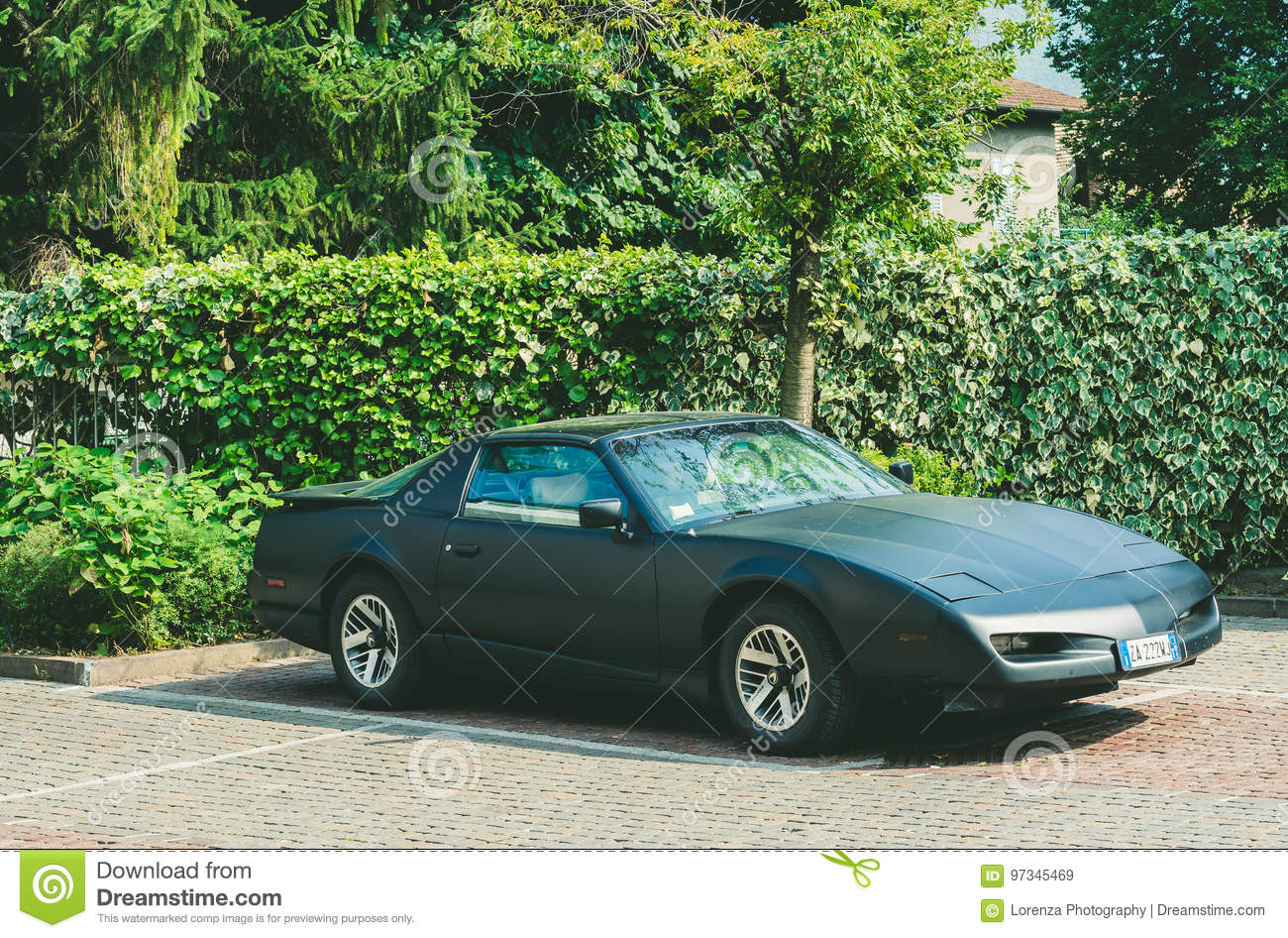 Trento, Italy: July 22, 2017: Meeting Of Classic Cars. Old Car On ...