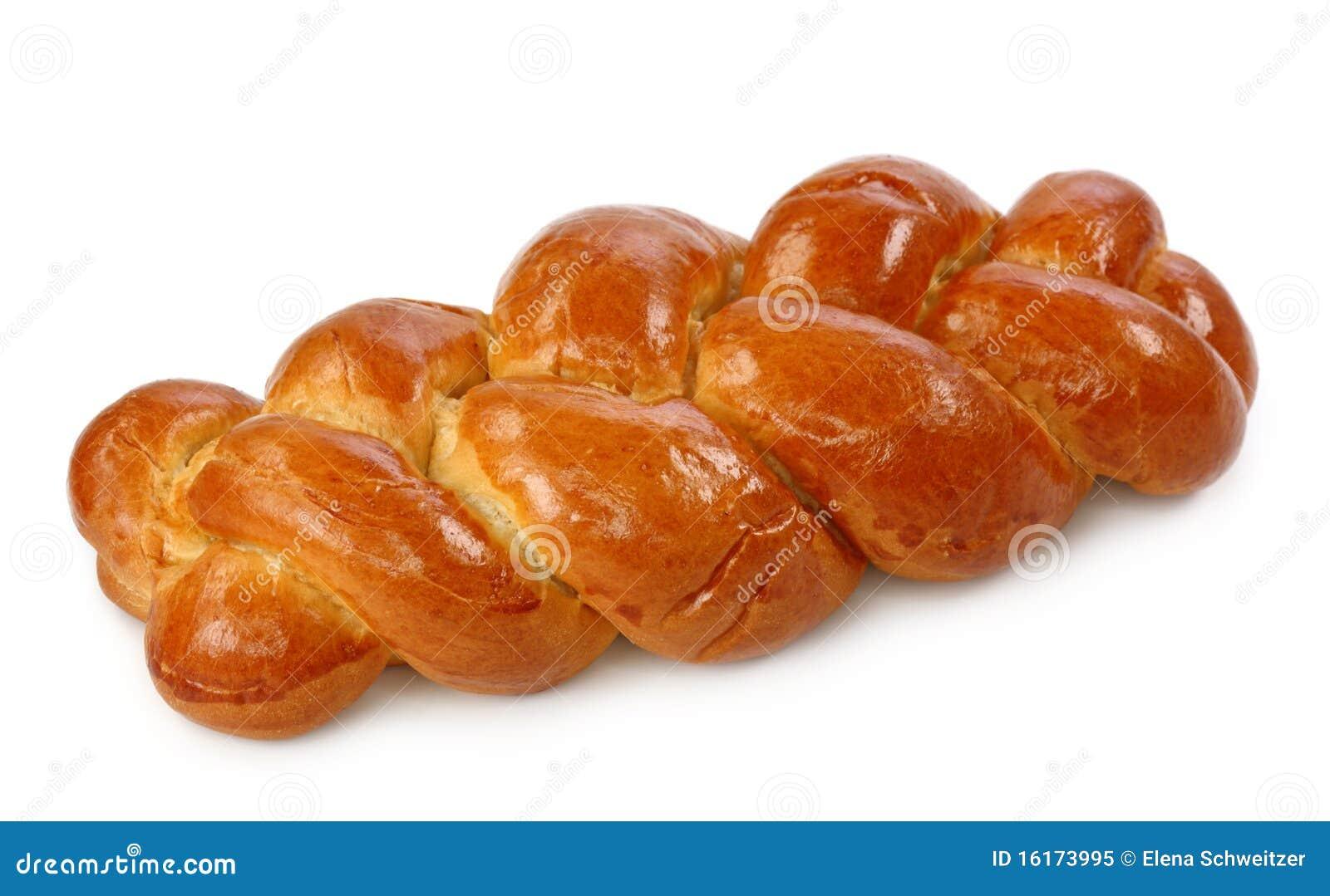 Trenza dulce del pan