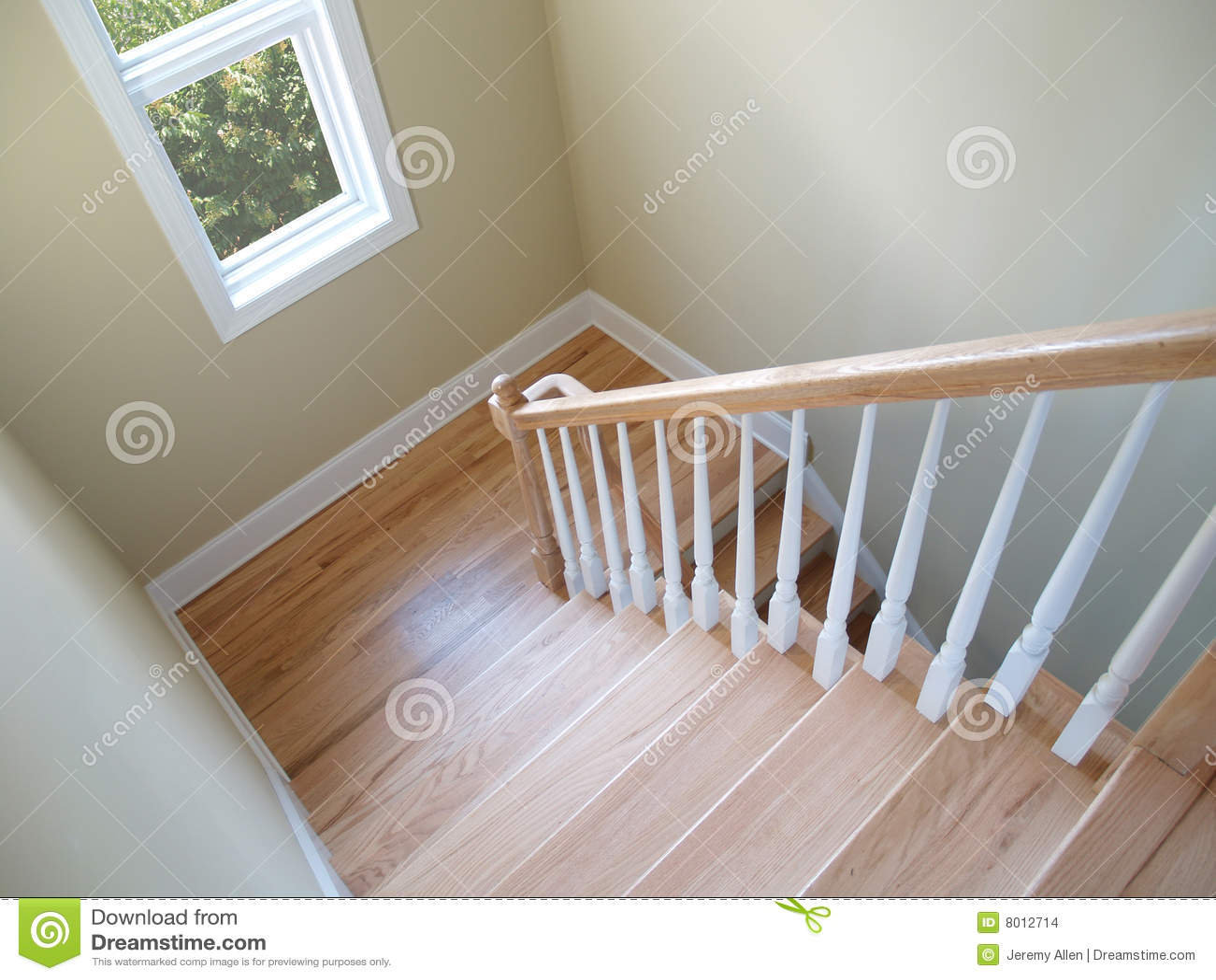Treppenhaus Fenster Stockbilder Bild 8012714