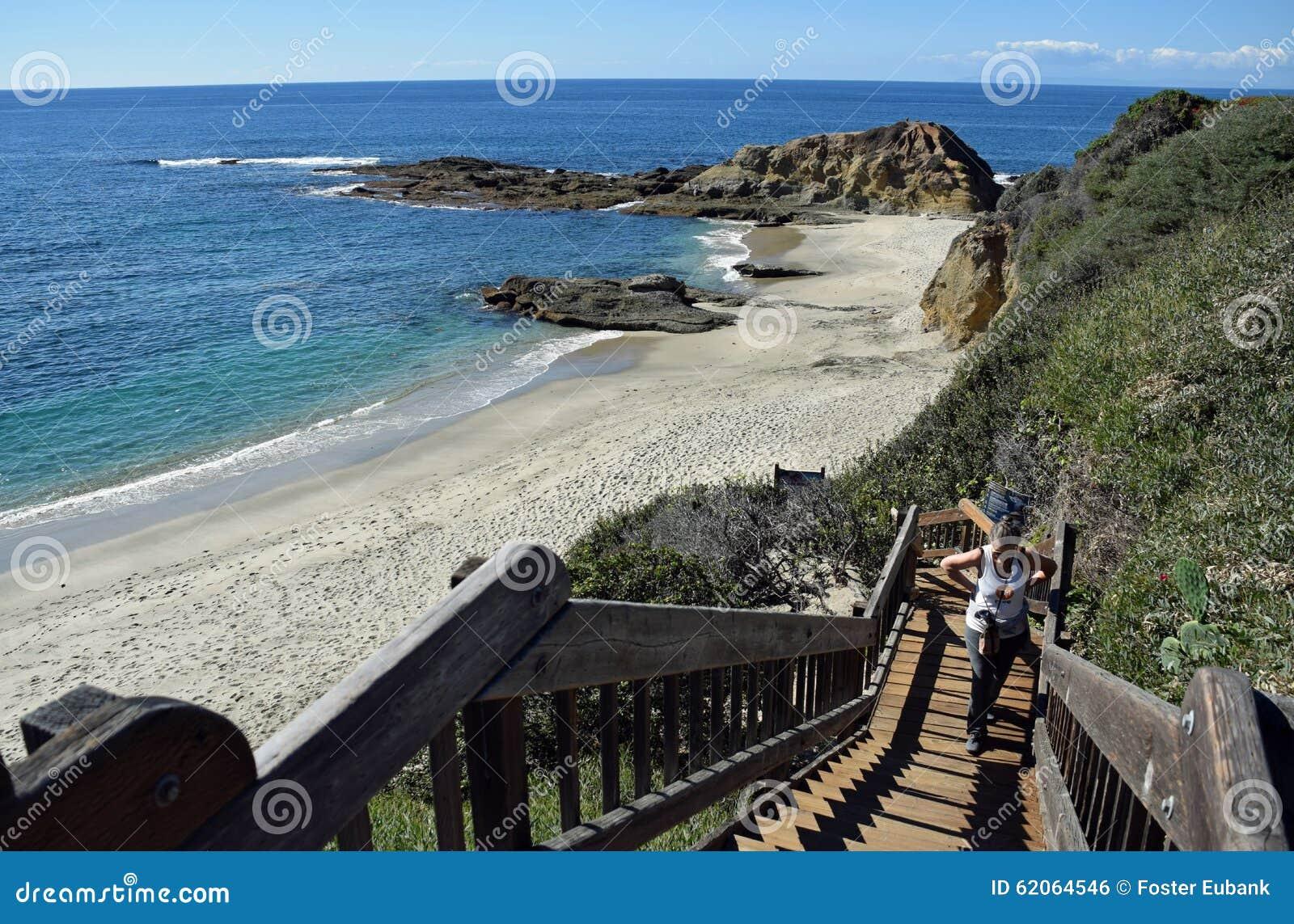 Treppenhaus Am Montage-Erholungsort Im Laguna Beach ...  Treppenhaus Am ...