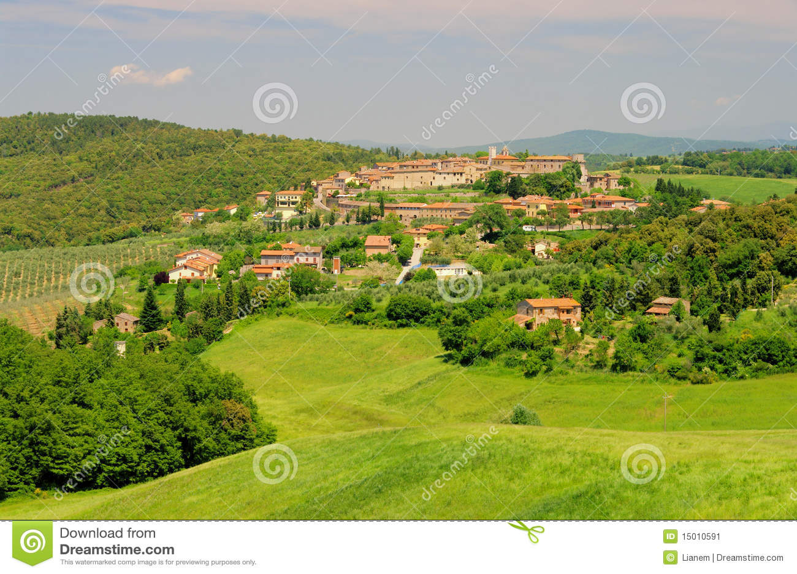 Trequanda Italy  city images : Trequanda Stock Image Image: 15010591