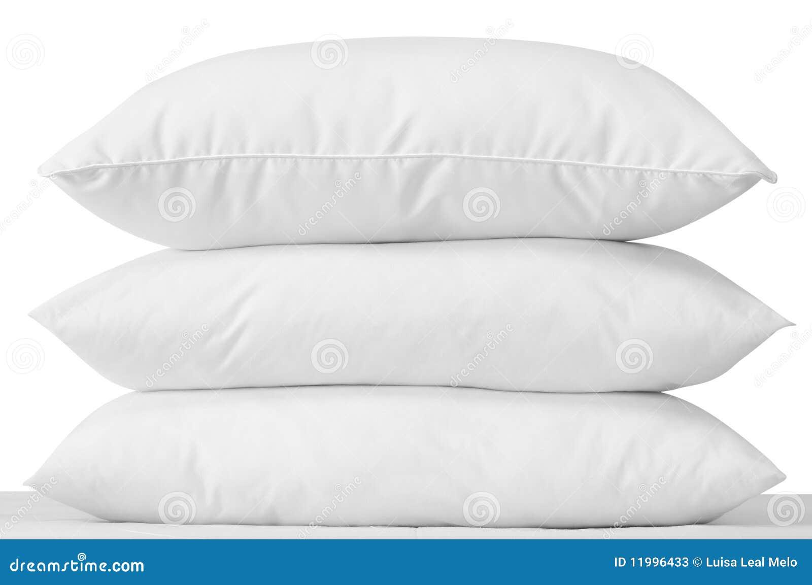 Tres almohadillas.