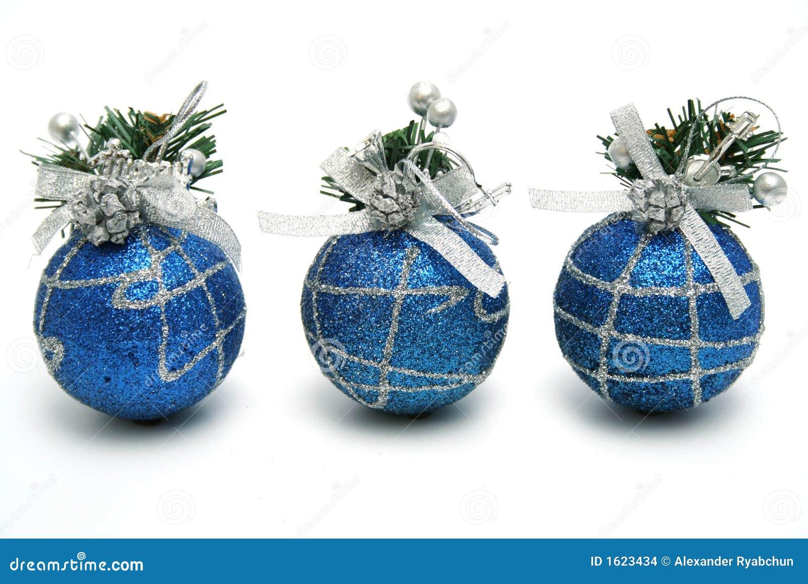 Image gallery esferas azules - Esferas de navidad ...