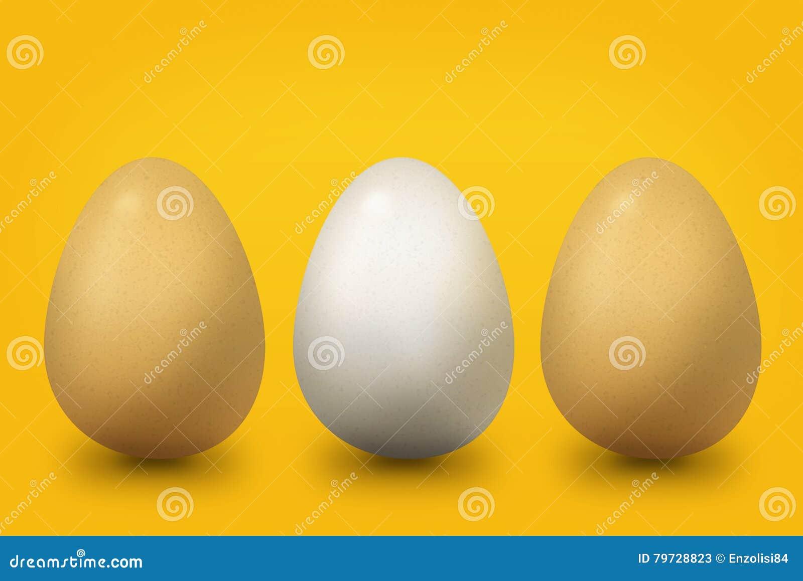 Tres huevos