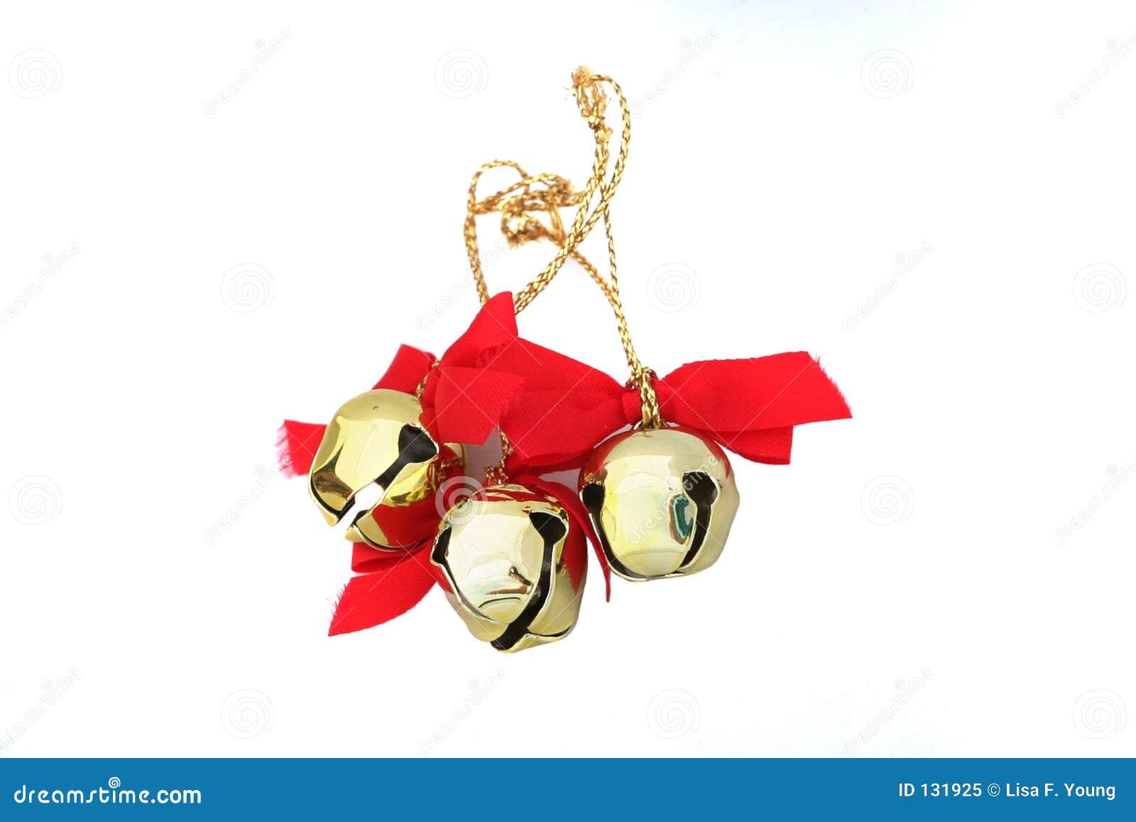 Tres la Navidad Belces aisladas