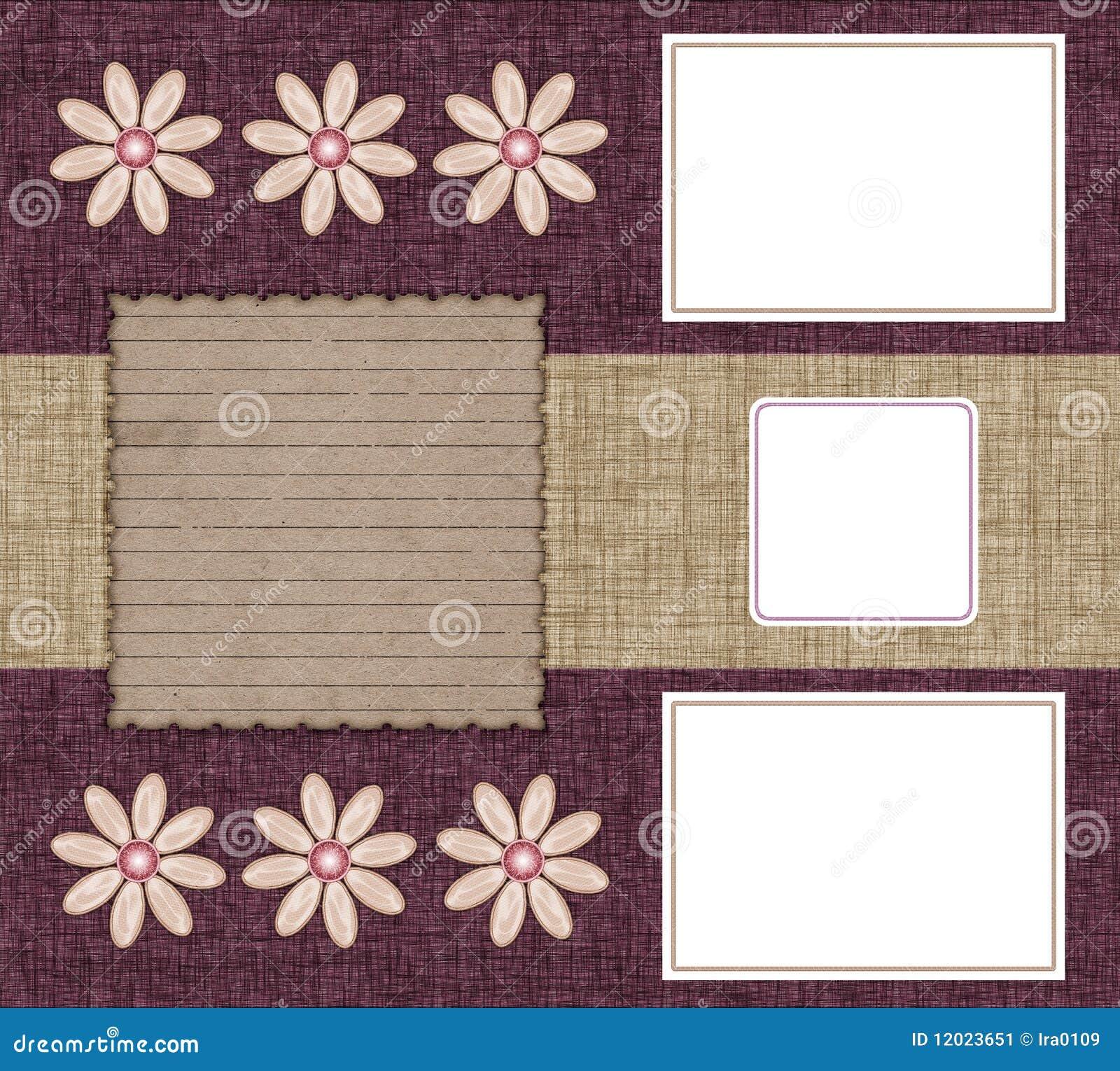 Tres marcos para las fotos stock de ilustración. Ilustración de ...