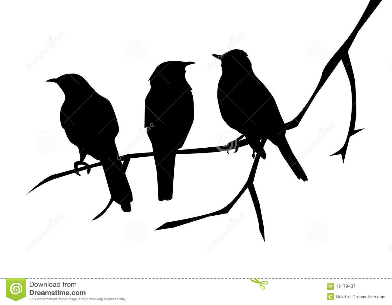 What does three black crows symbolize