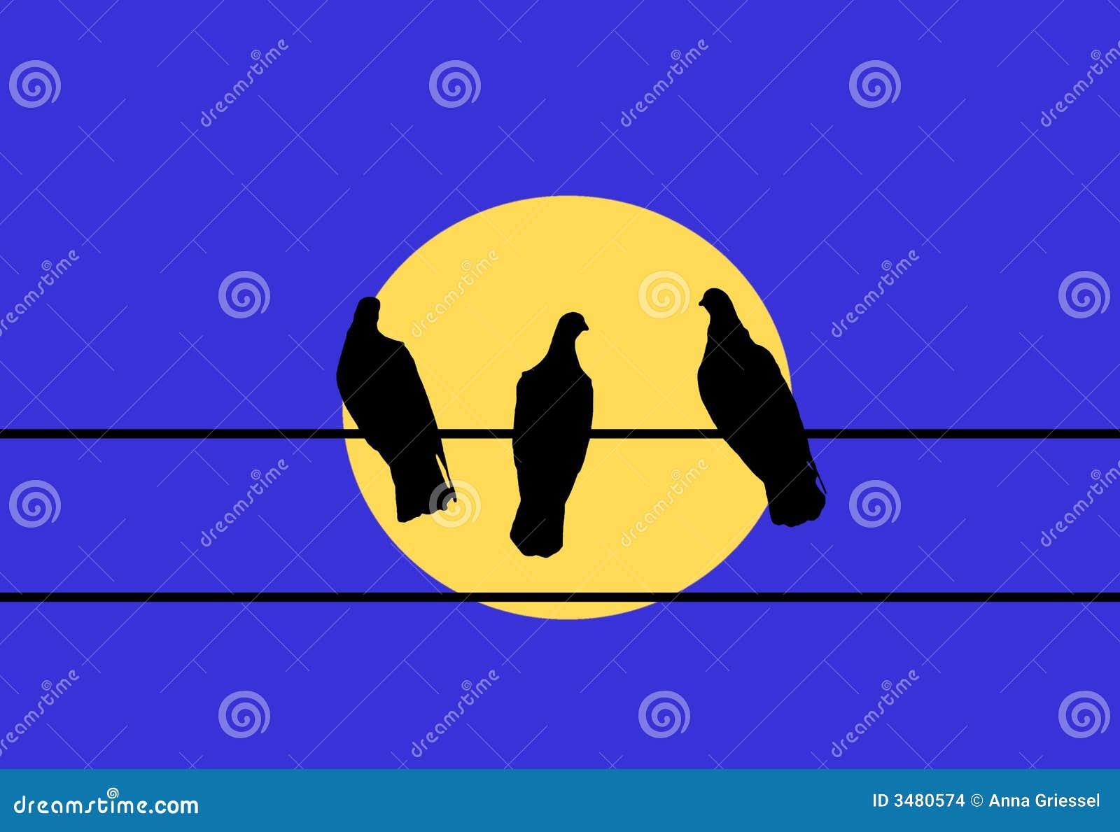 Tres palomas