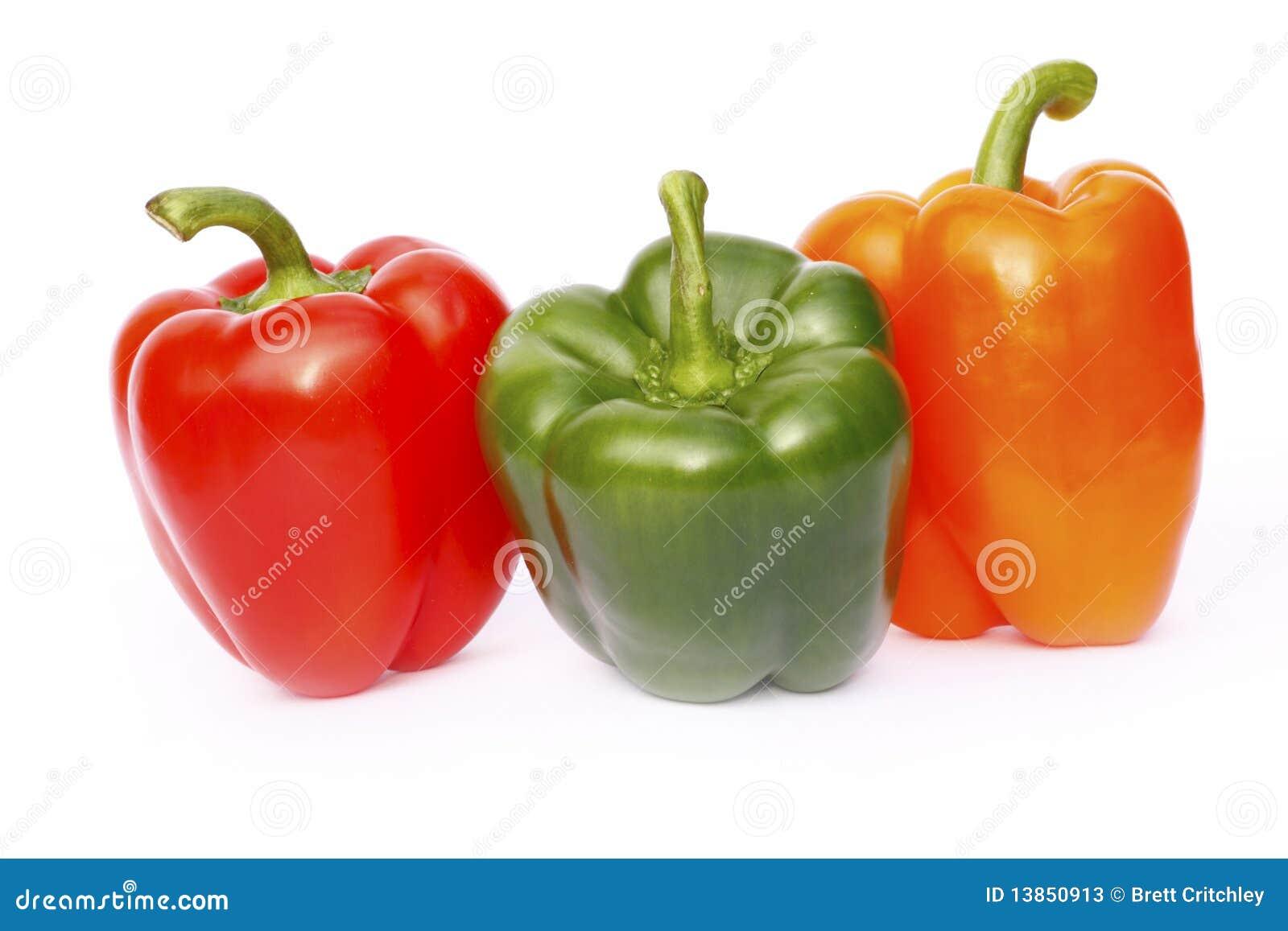 Tres paprikas