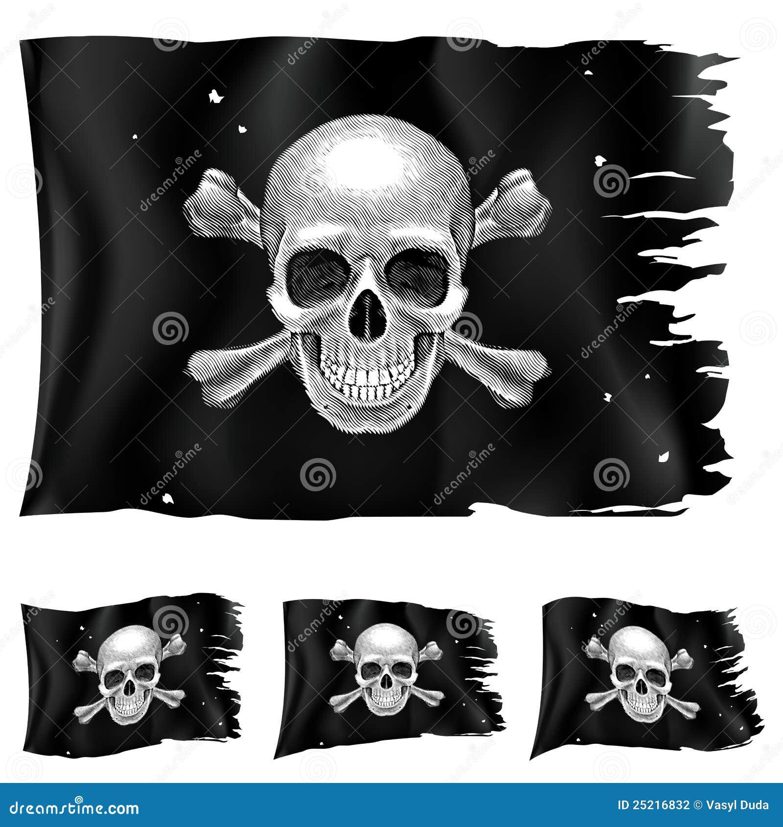 Tres tipos de indicador de pirata