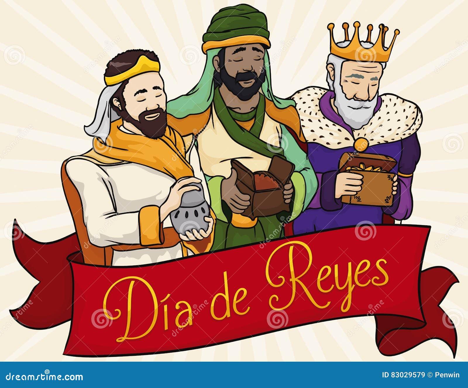 Dias De Reyes Magos Descargar tres unos de los reyes magos bíblicos detrás de la cinta