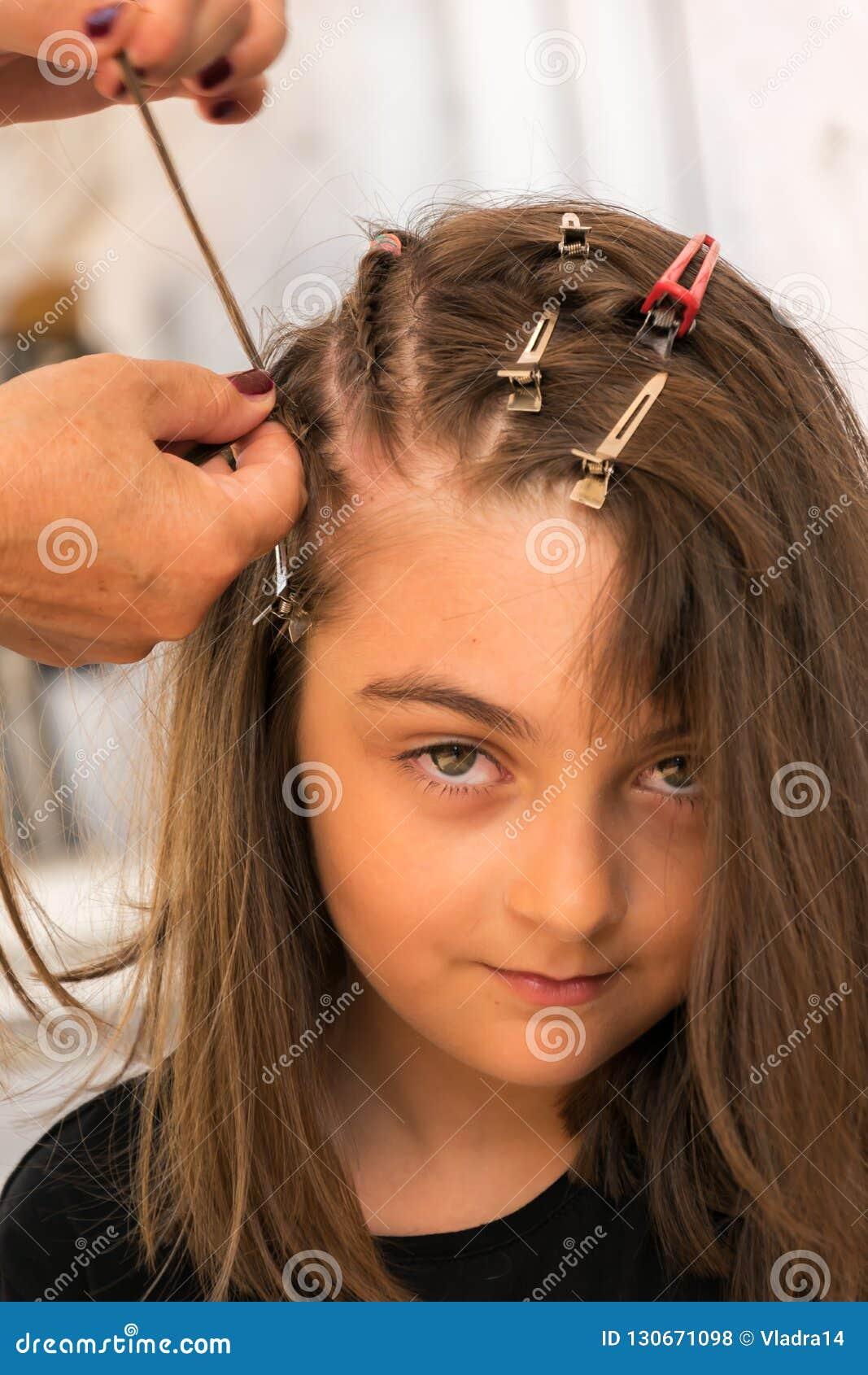 Tresses de cheveux