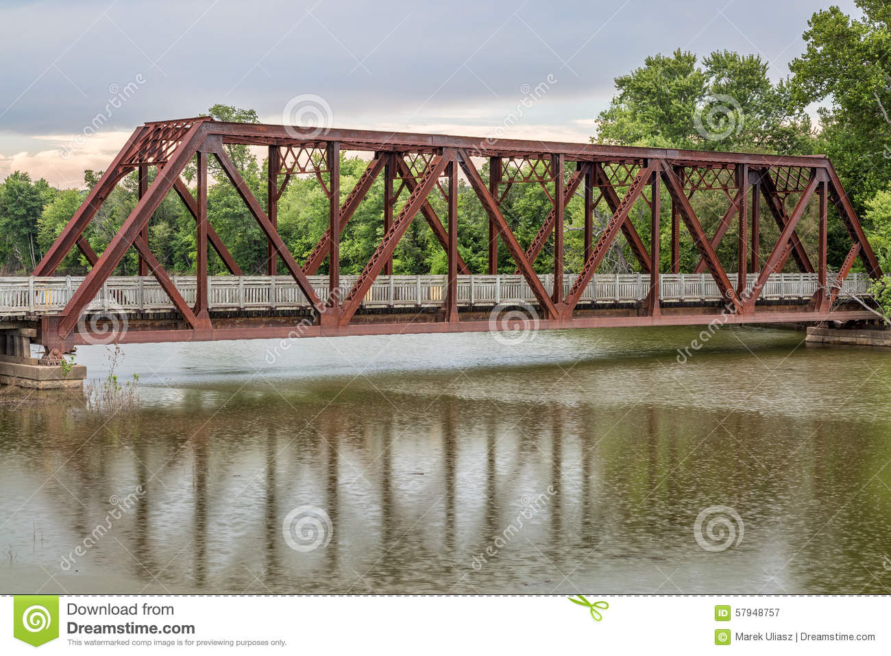 Trestle On Katy Trail In Missouri Stock Image Image 57948757