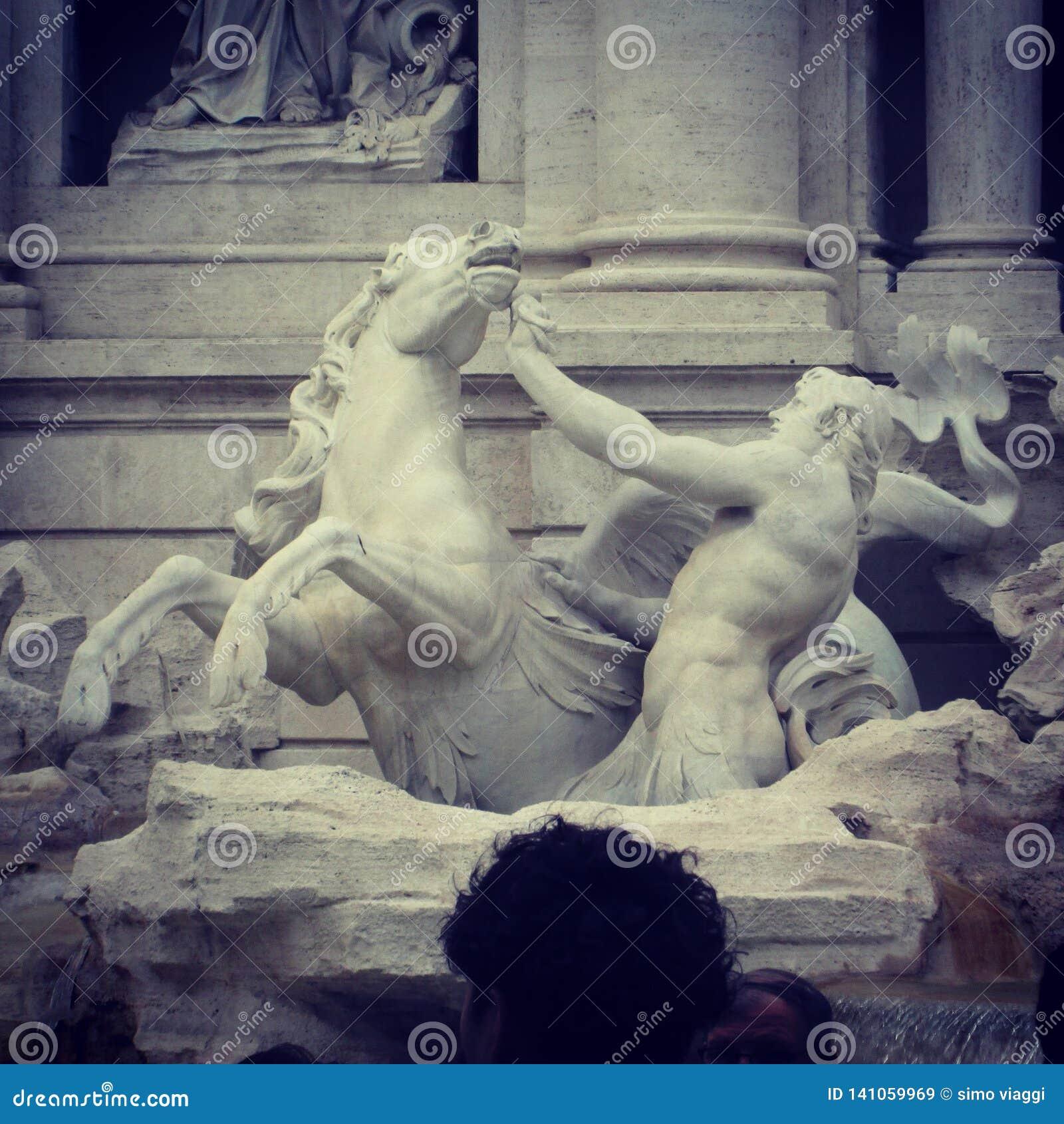 TREVI της Ιταλίας Ρώμη πηγών