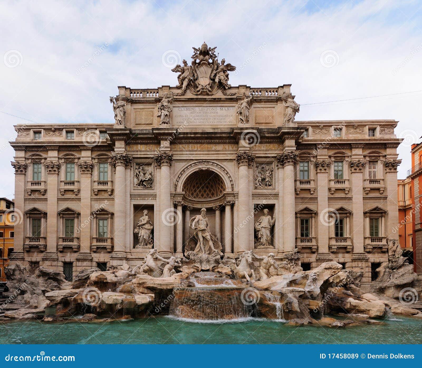 TREVI της Ρώμης πηγών