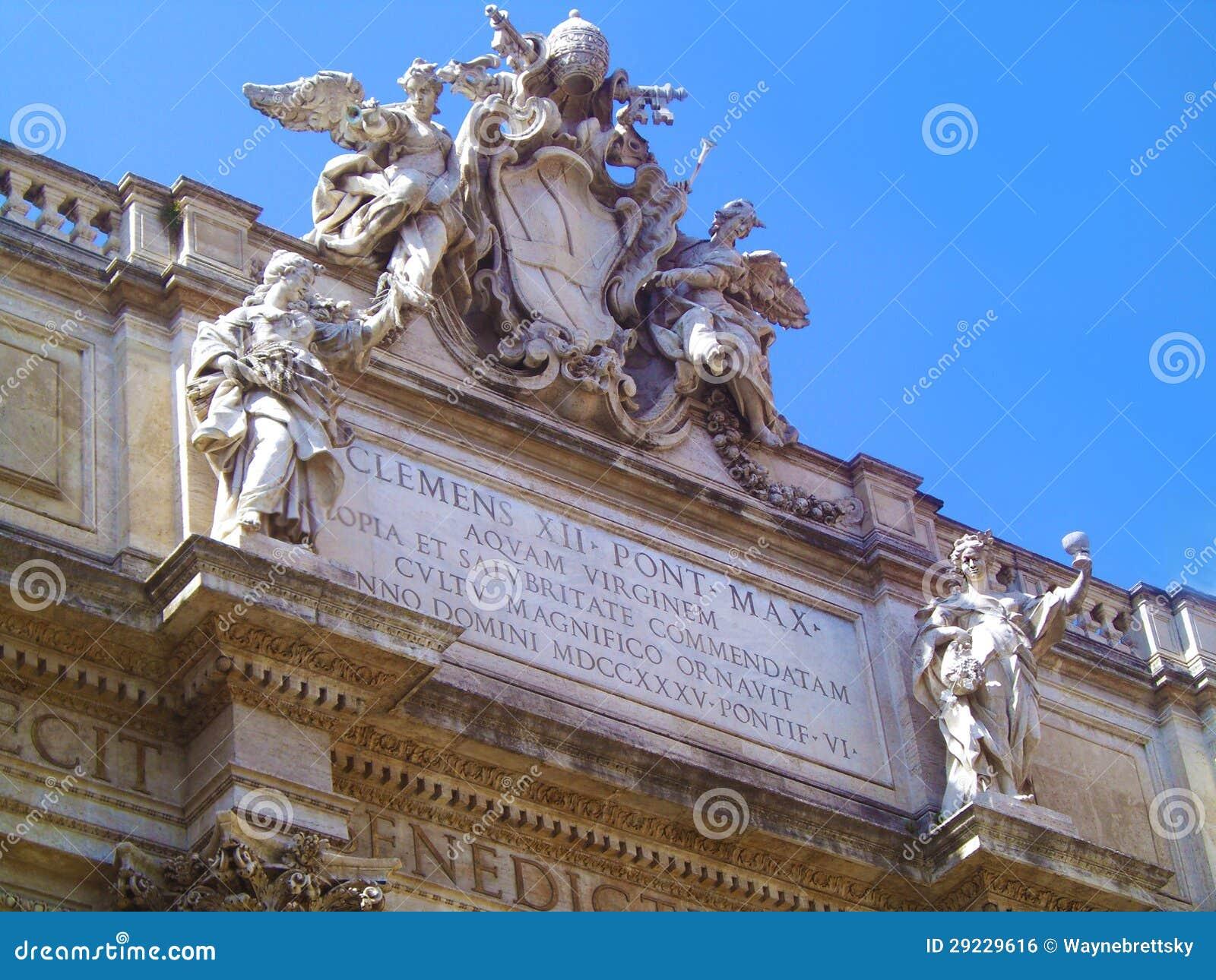 Download Trevi foto de stock. Imagem de arquitetura, classical - 29229616
