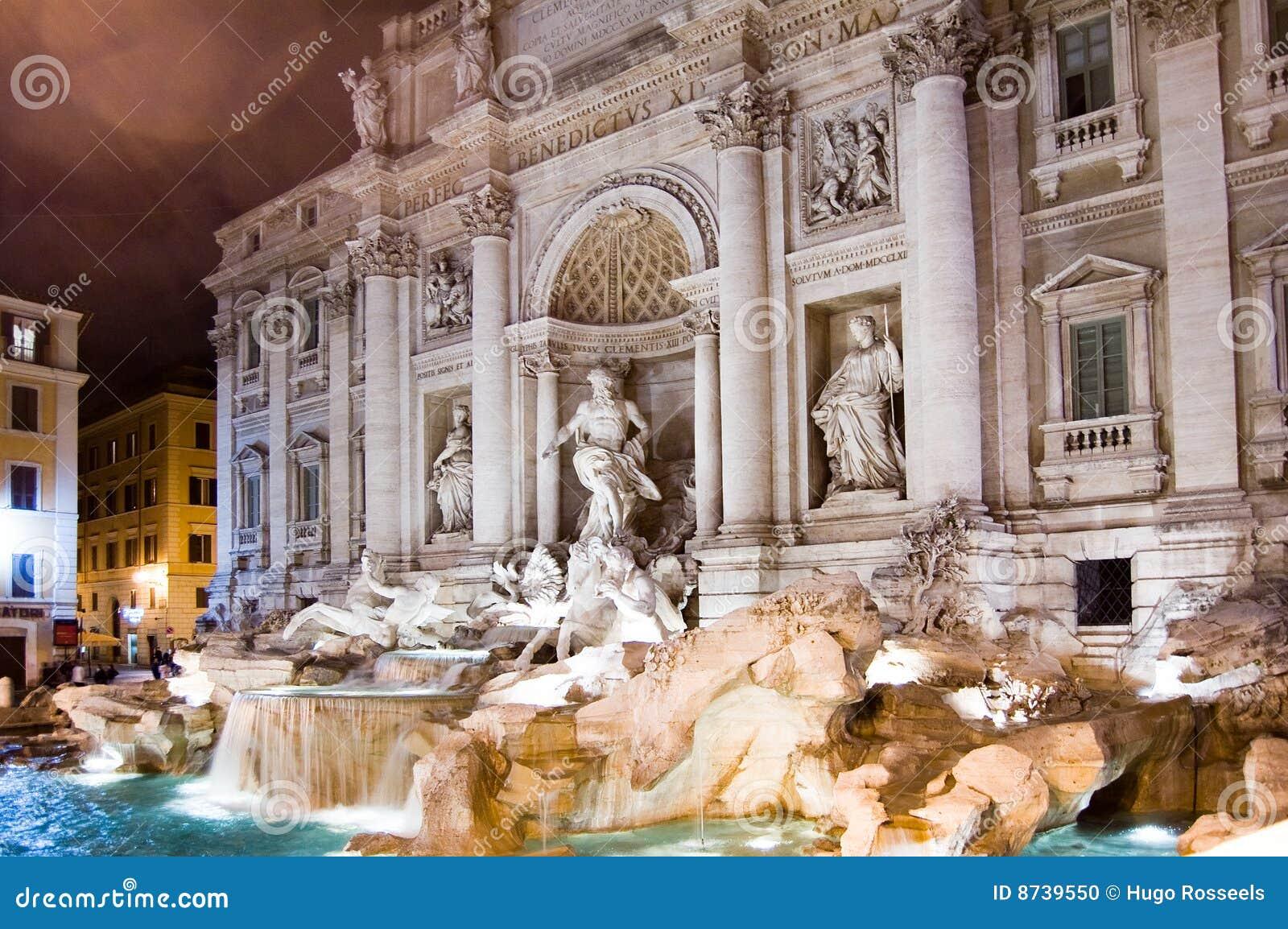 TREVI de Rome de fontaine