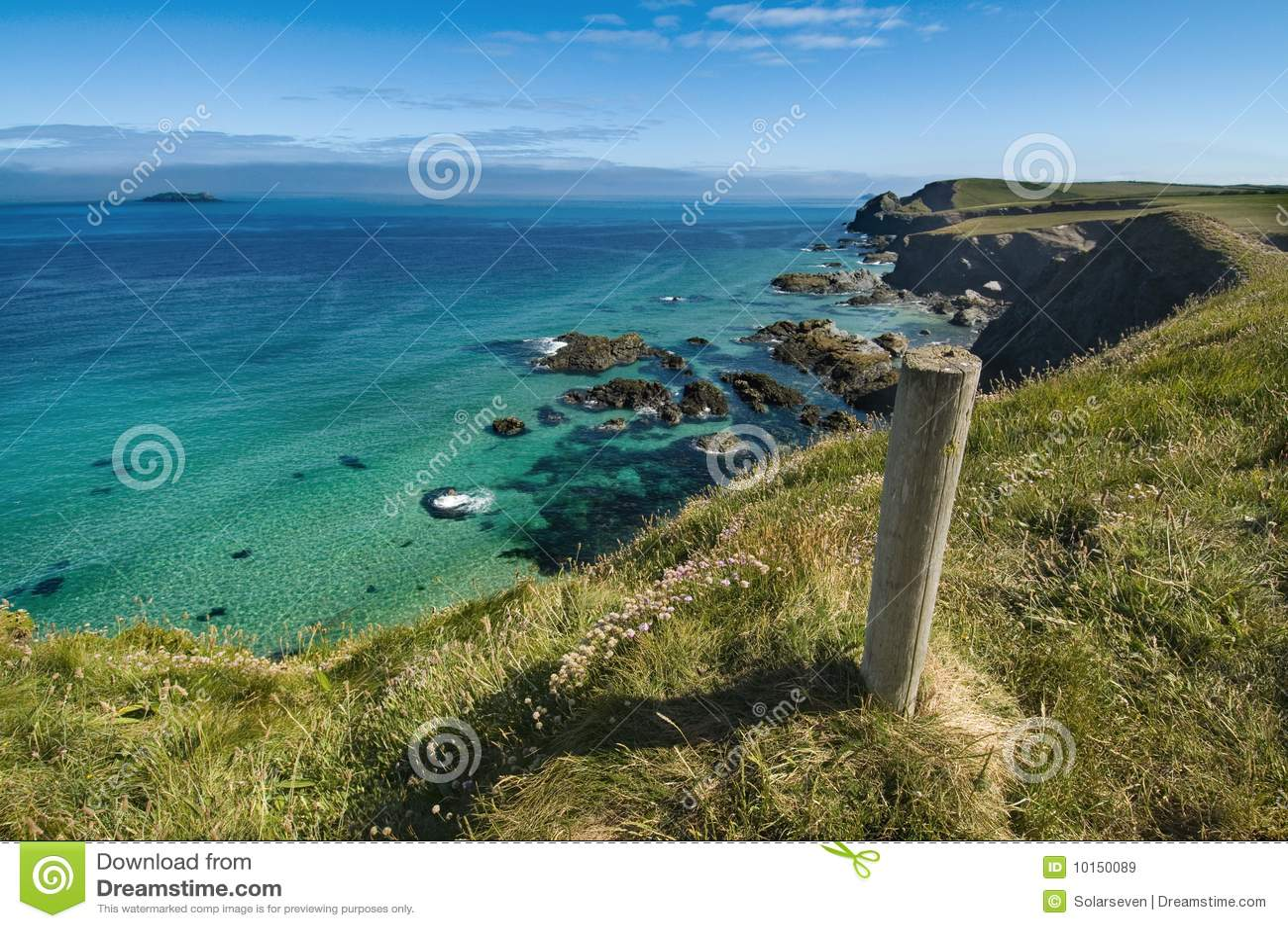Trevone - Cornwall Coastline UK