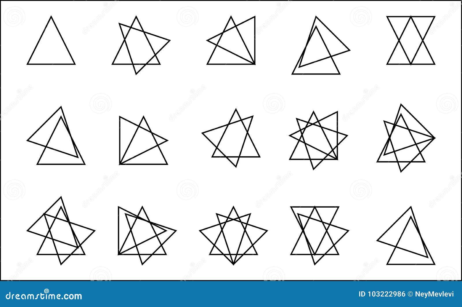 Triángulo apilado